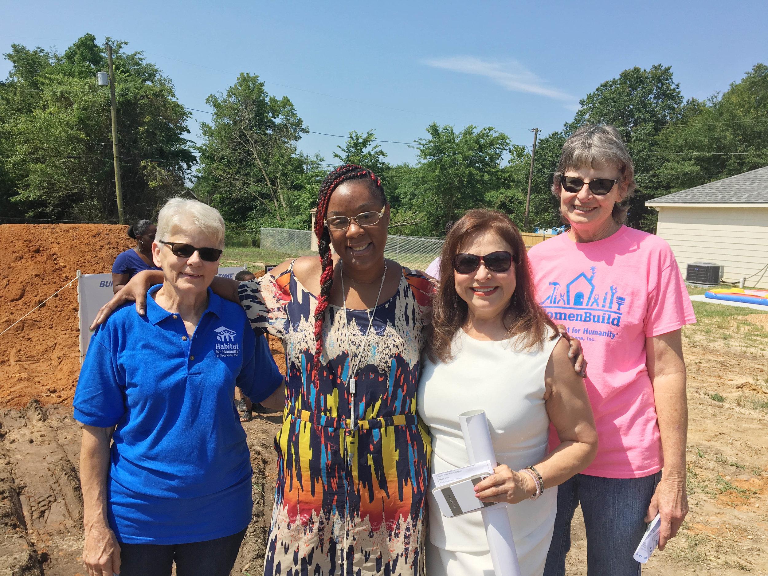 Judy Head, Barbara Jackson, Mary Wormington and Carolyn deBie