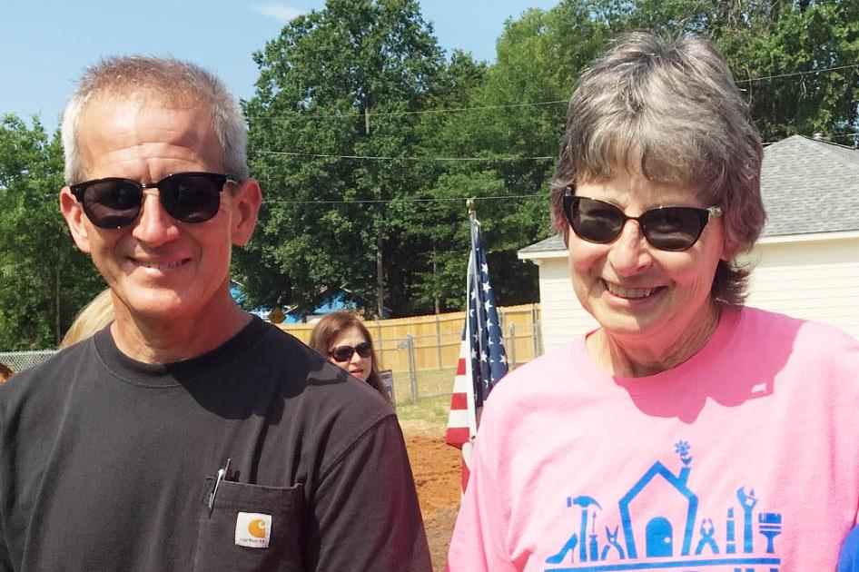 Stephen Cross and Carolyn deBie