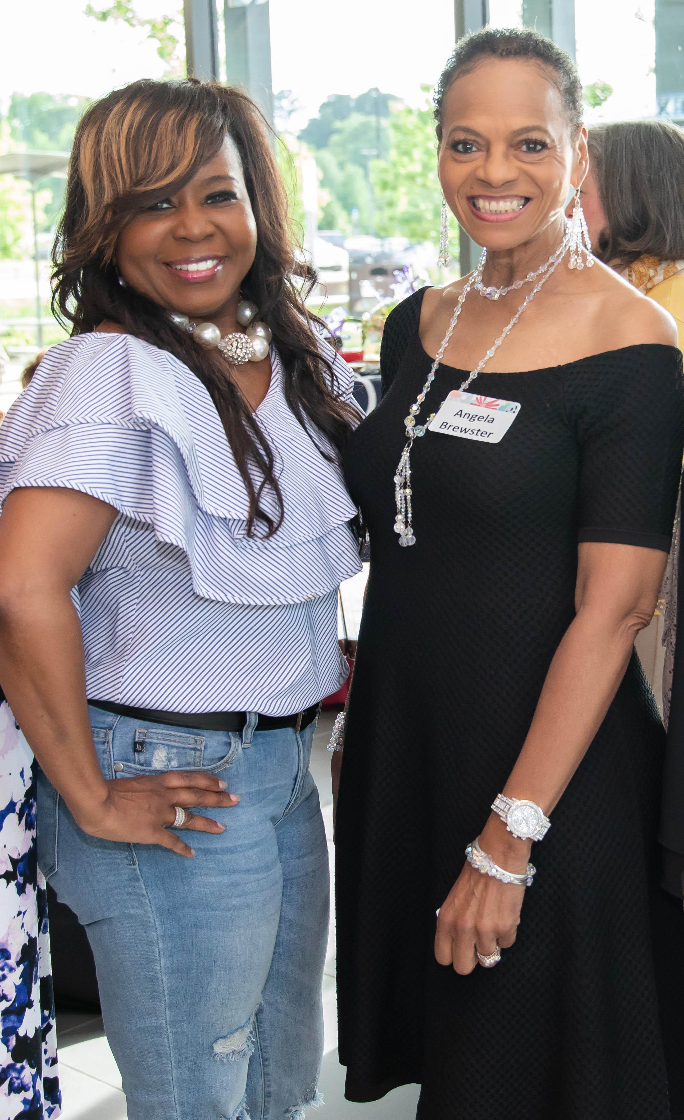 Lekia Jones and Angela Brewster