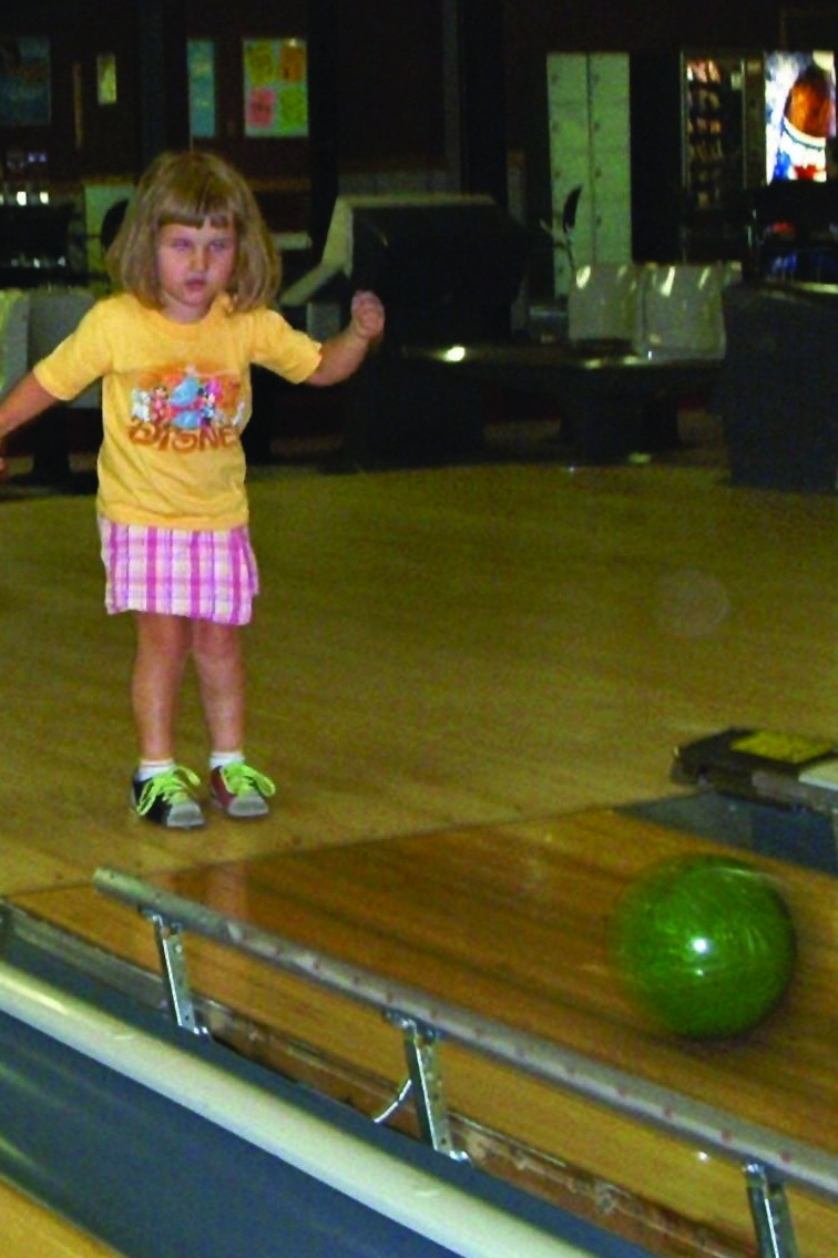 Five-year-old Linda picked up a bowling ball for the first time in 2005 at the bowling center her father managed in Medina, Ohio, and has never looked back.