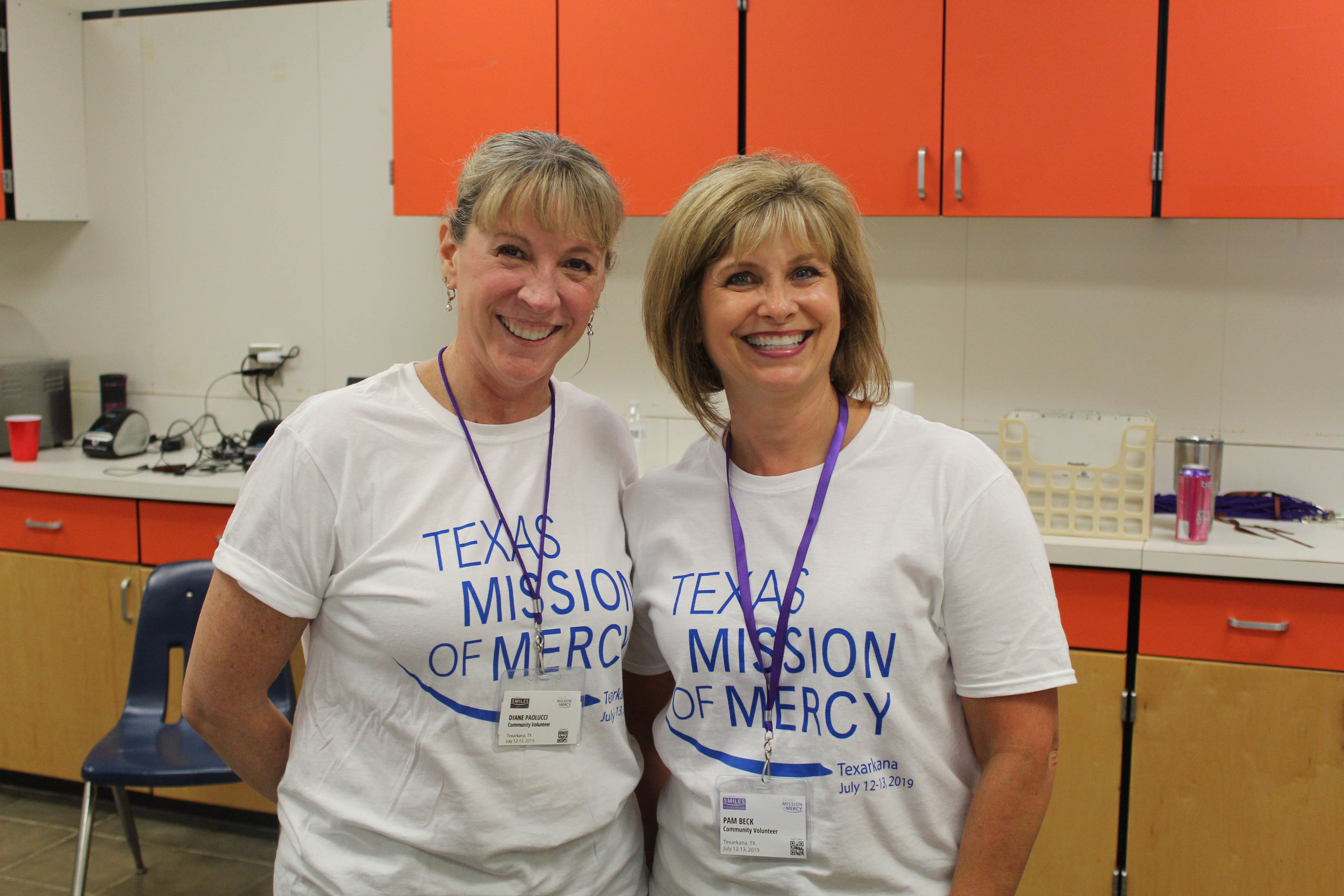 Diane Paolucci and Pam Beck