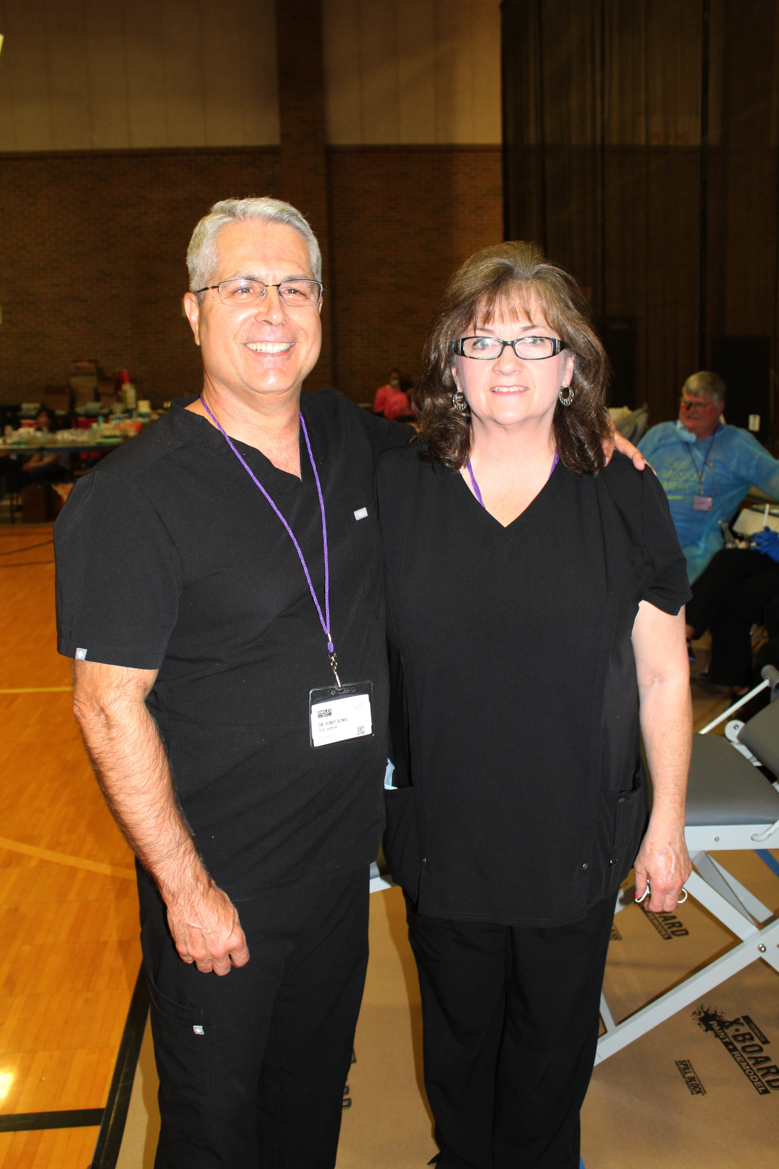 Dr. Kirby Bunel and Barbara Redden