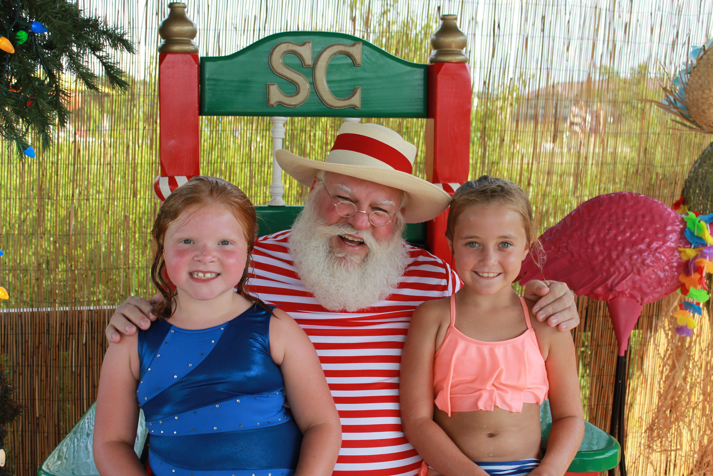 Catie Crittenden, Santa and Eden Harris
