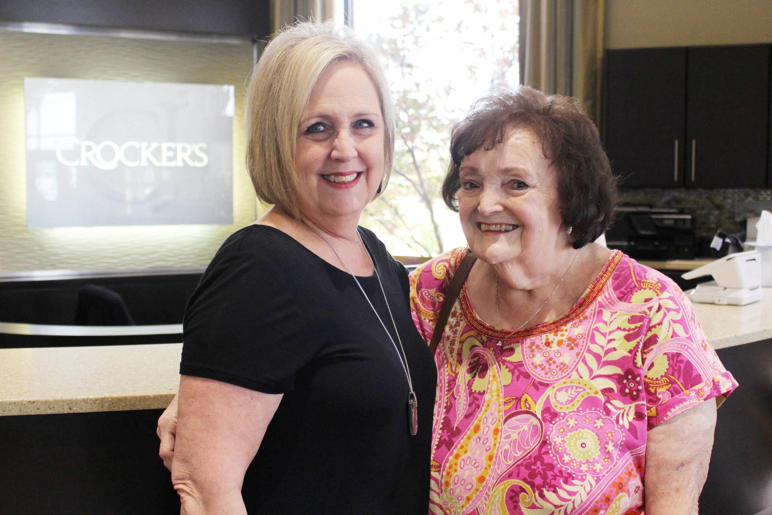Kathy Crutcher and Linda Greenlee