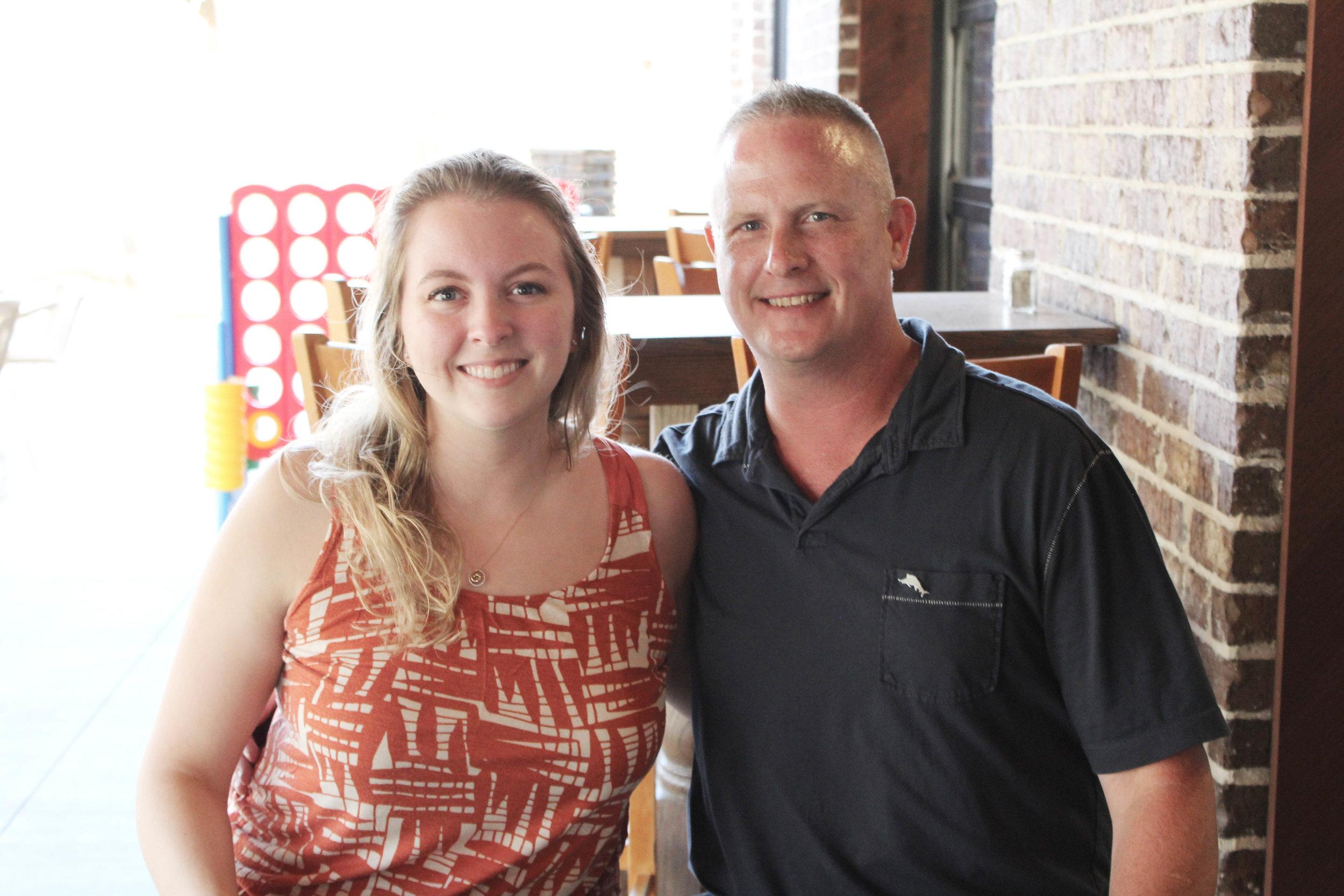 Claire Northam and Chris Moerke