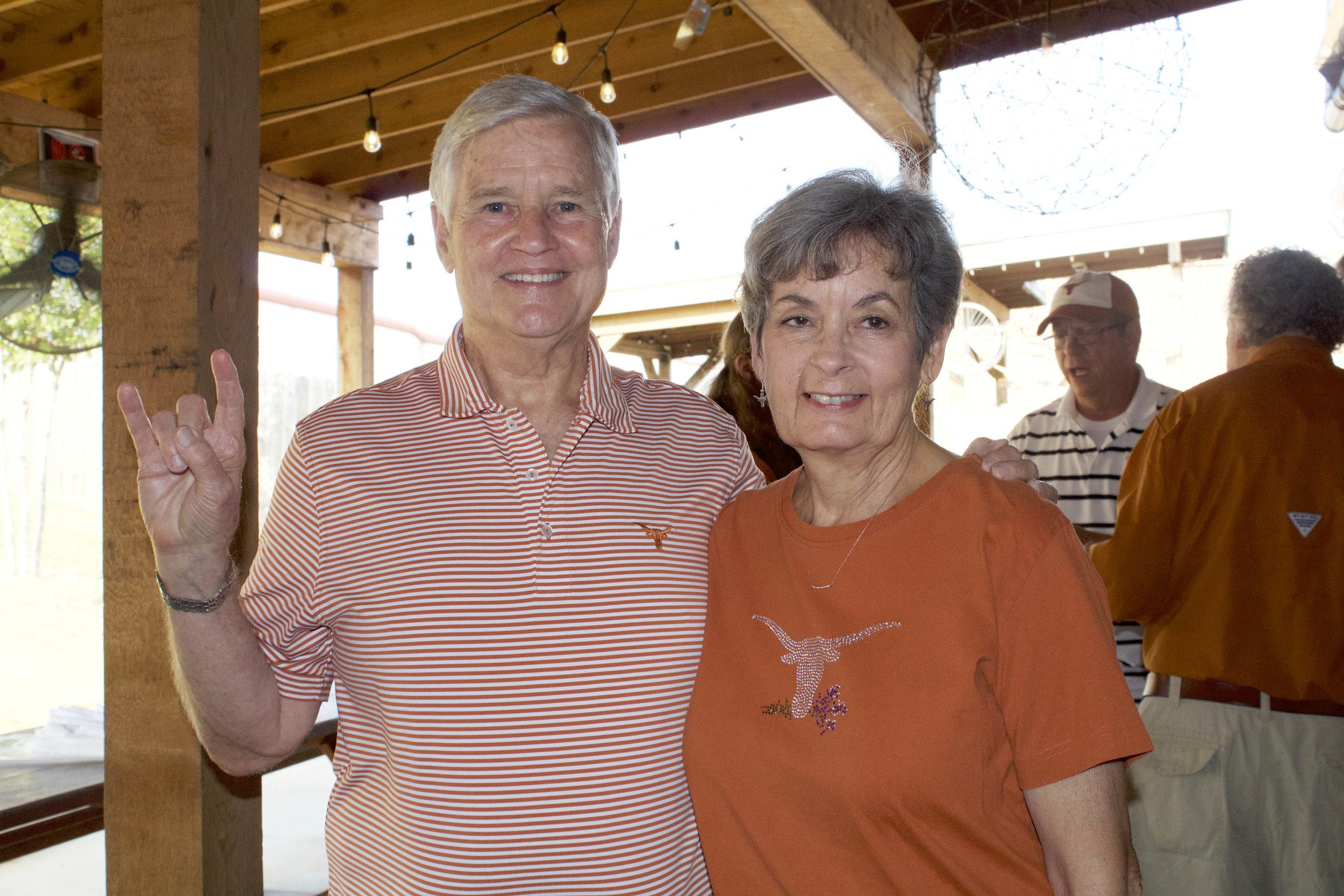Dr. Roy and Vicki Deskin