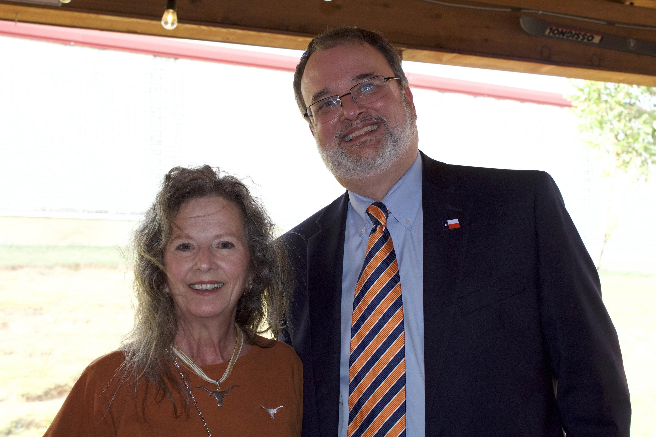 Dr. Wanda Northam and the Hon. Craig Henry