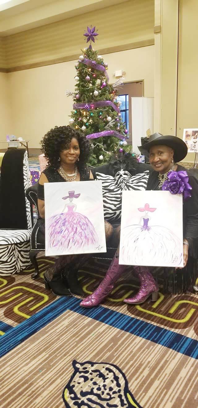 Chiquita Burks and Rhonda Dolberry