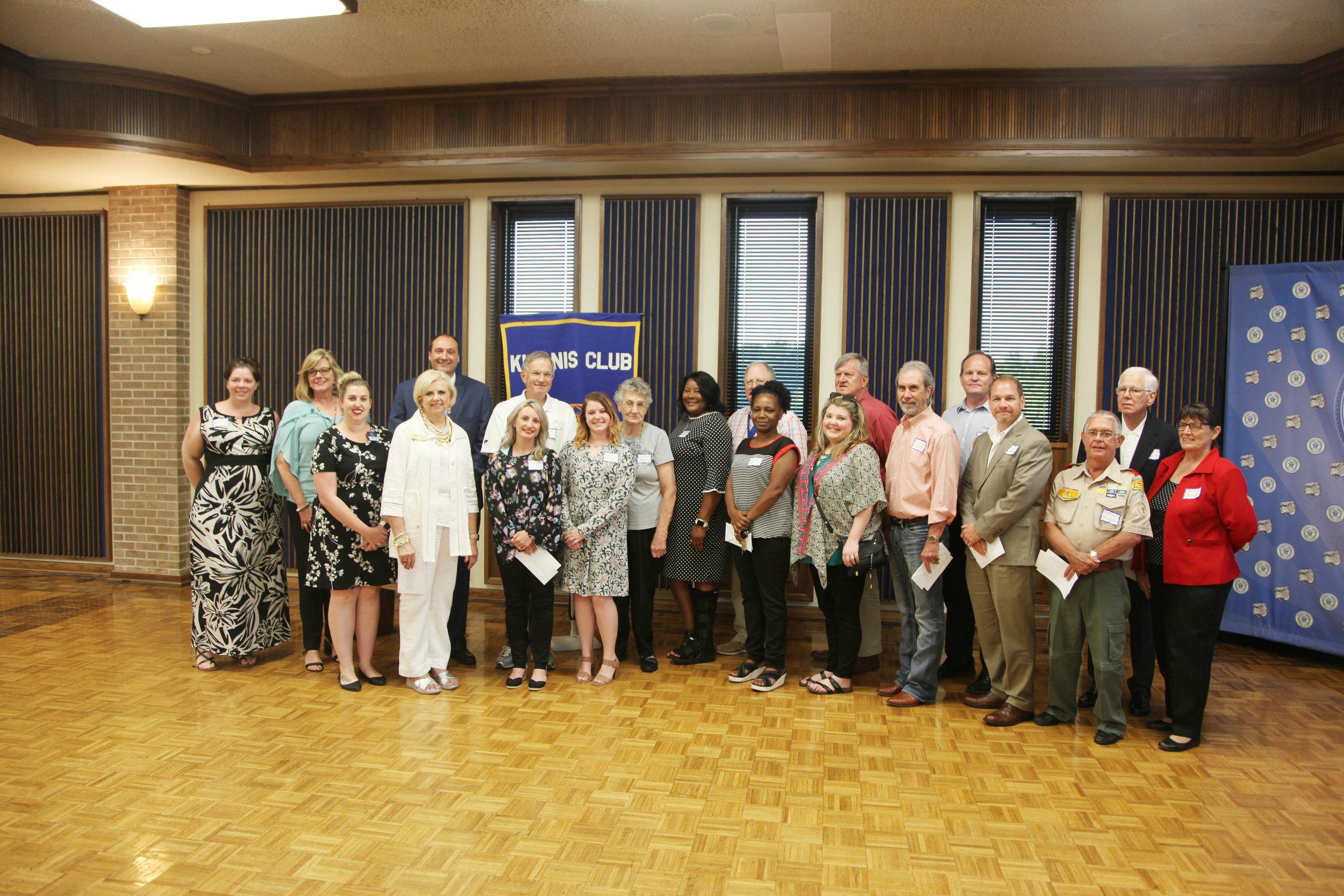 Kiwanis Club of Texarkana Awards Banquet