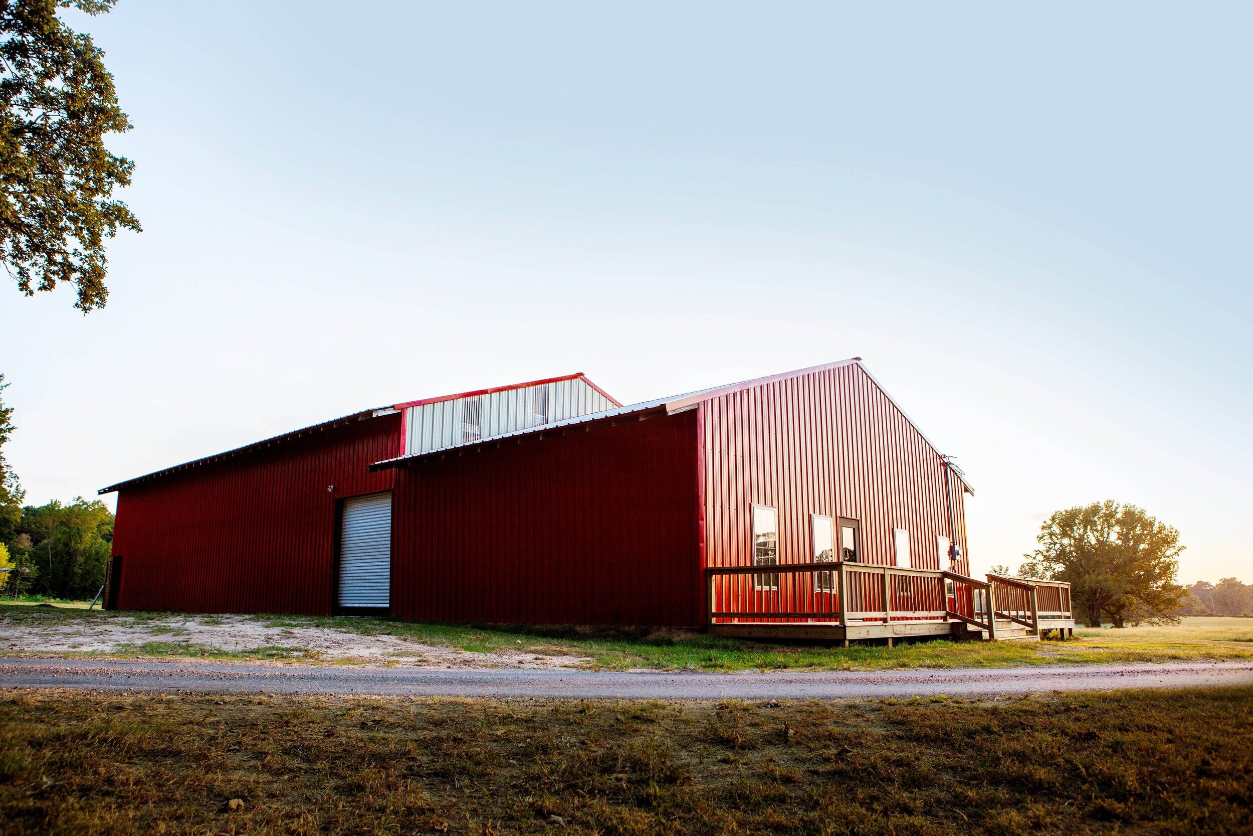 Red River Retrievers' Dog Kennel Facility (Photo by Natalie Haywood)