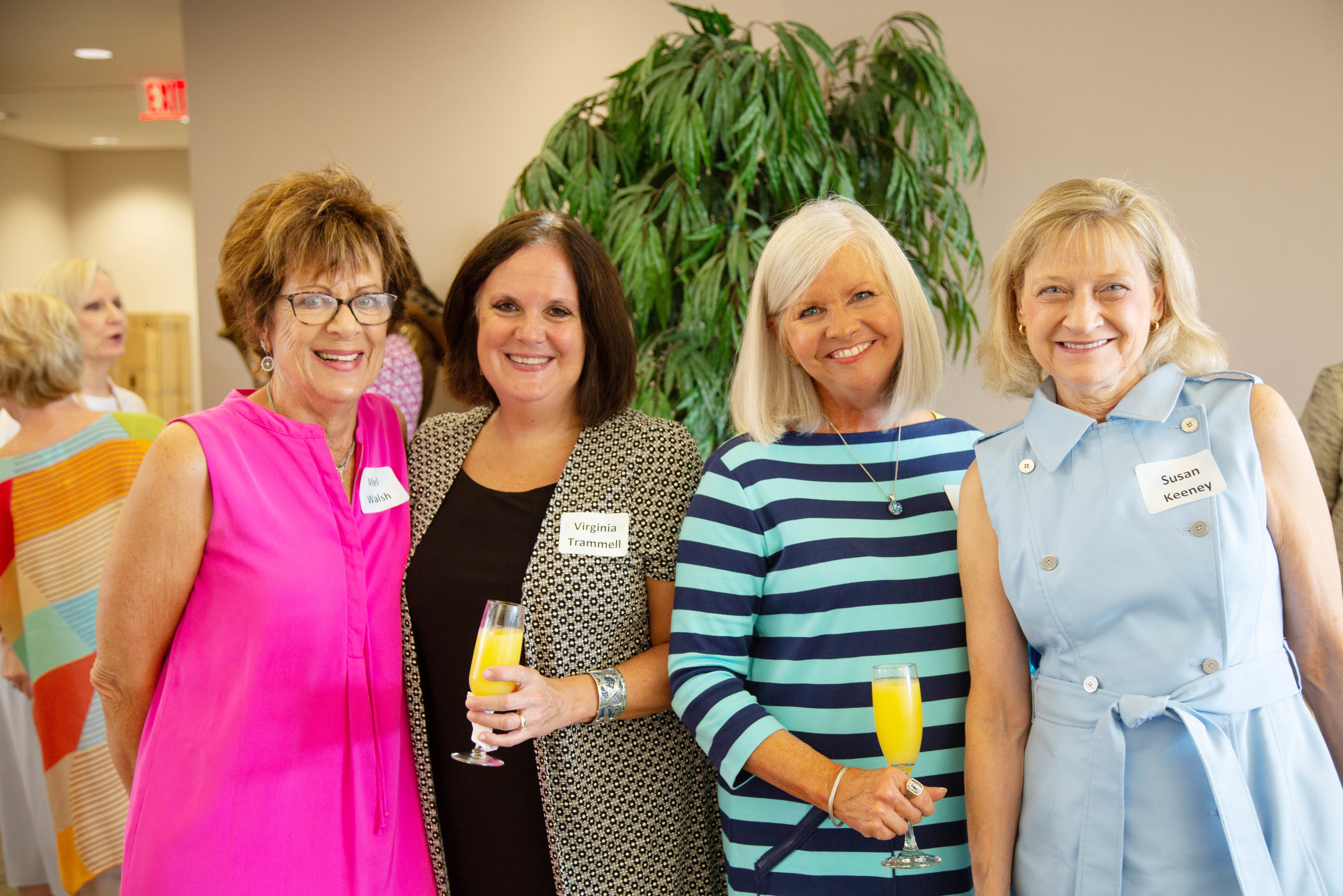 Mel Walsh, Virginia Trammell, Judge Sherry Jackson Hawkins and Dr. Susan Keeney