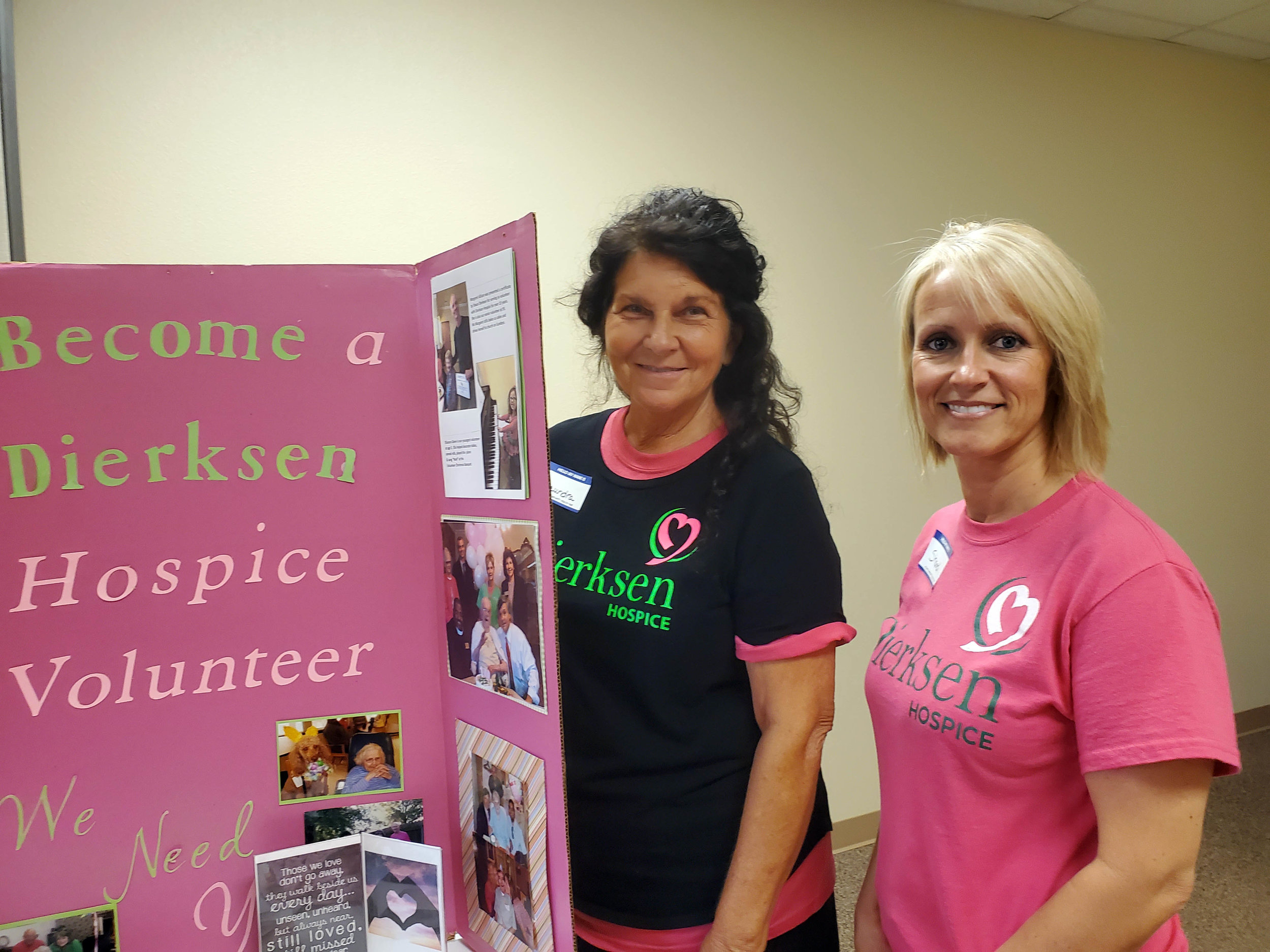 Saundra Sherwood and Shandi Allen – Dierksen Hospice