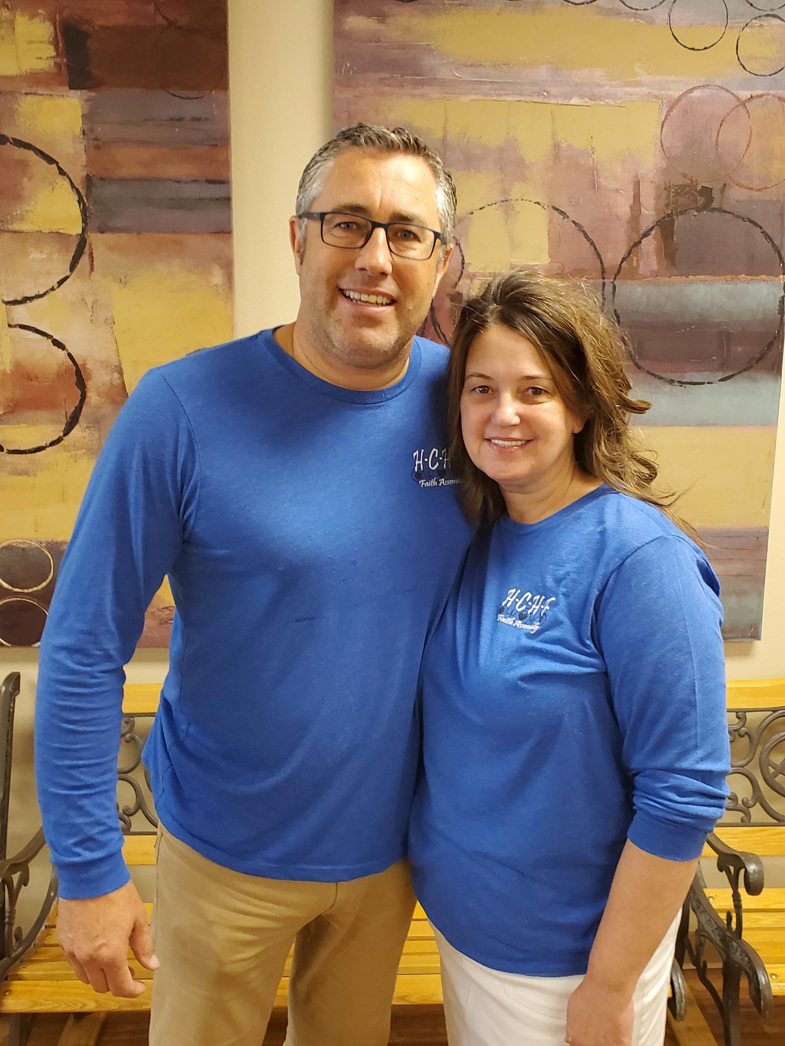 Pastor Brian and Pam McDonald