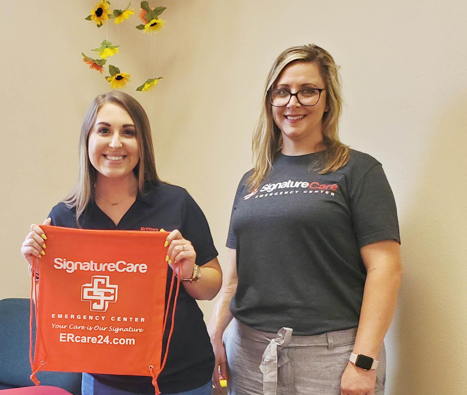 Brittney Cox and Brandi Wilson – Signature ER Care