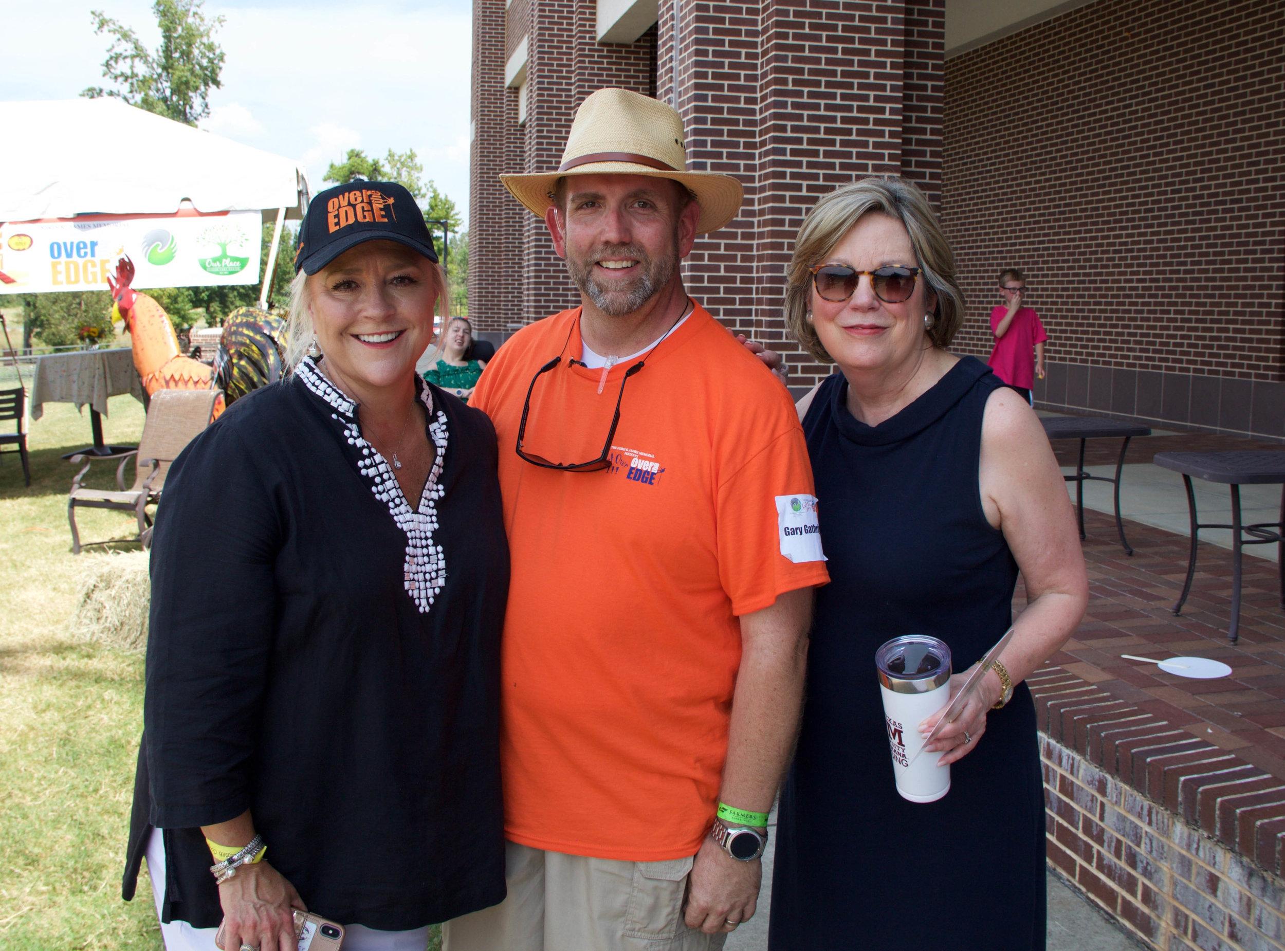 Vicki Melde, Gary Gathright and Dr. Emily Cutrer