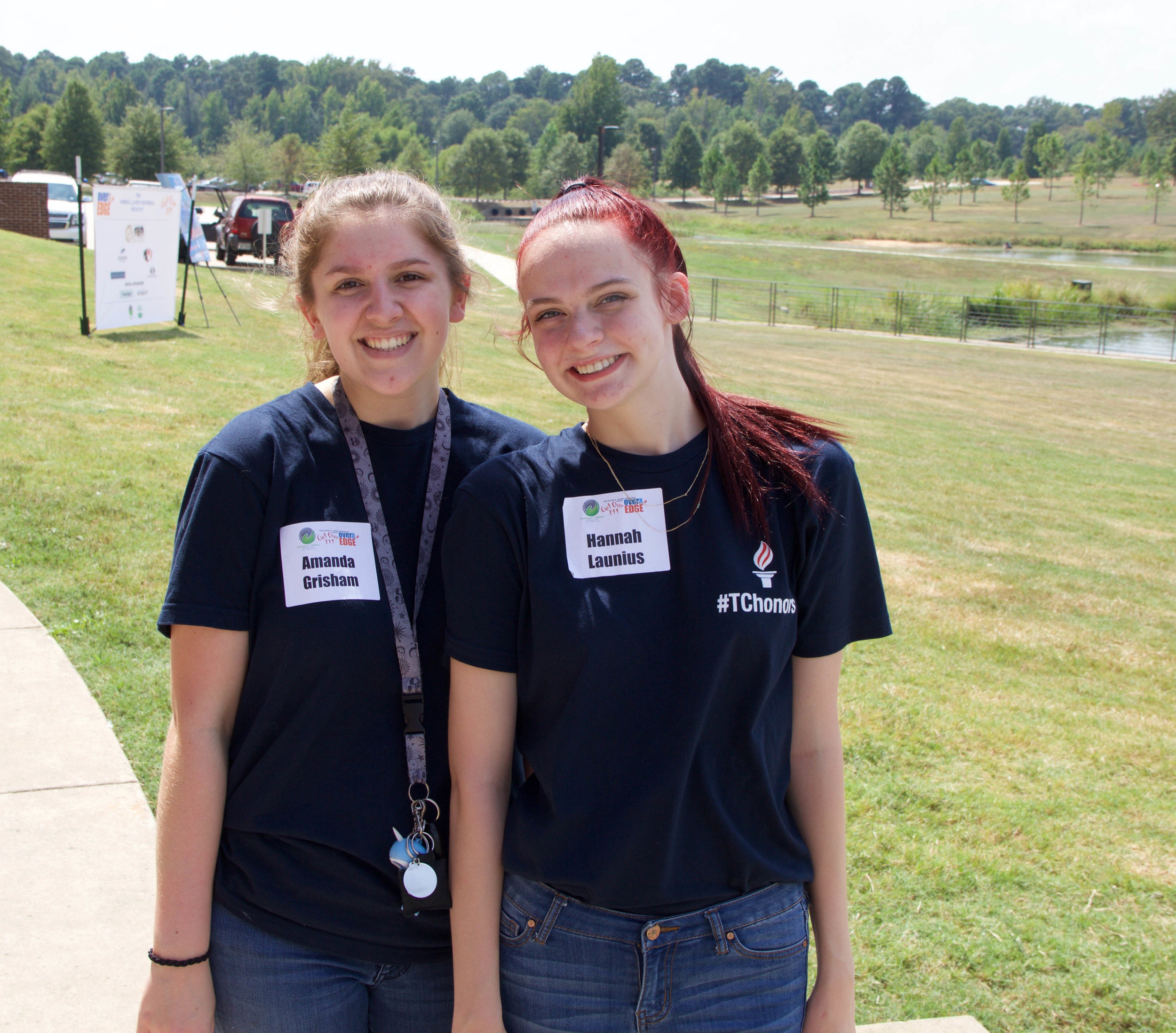 Amanda Grisham and Hannah Launius