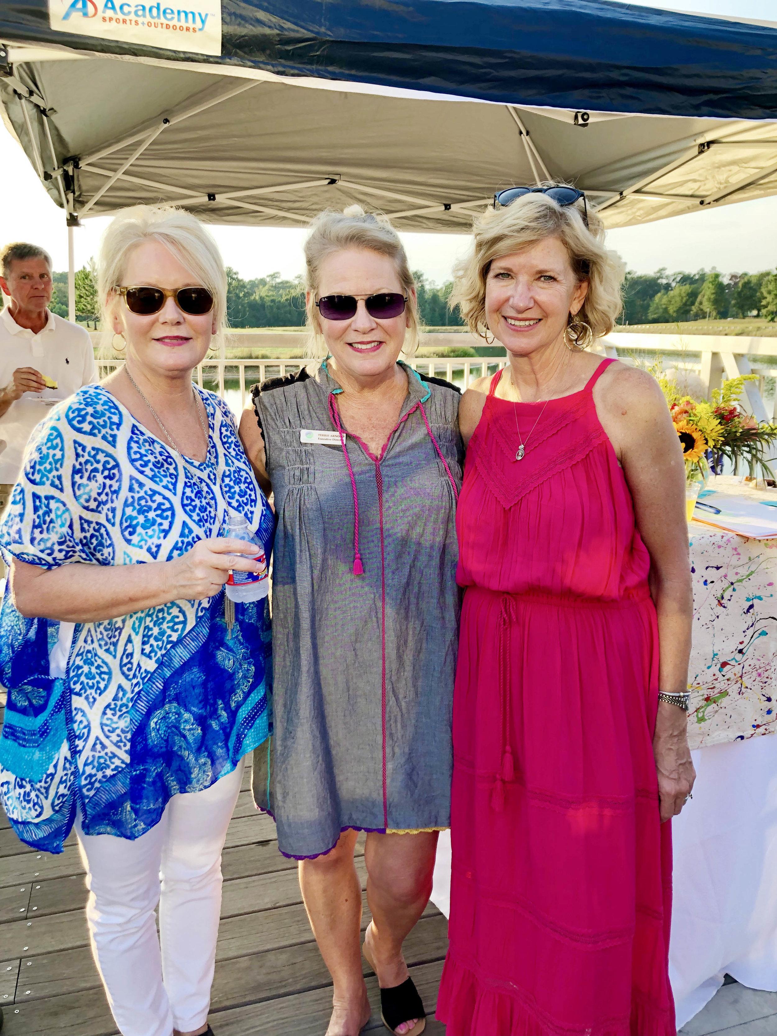 Jerri Raney, Terrie Arnold and Cathy Van Herpen