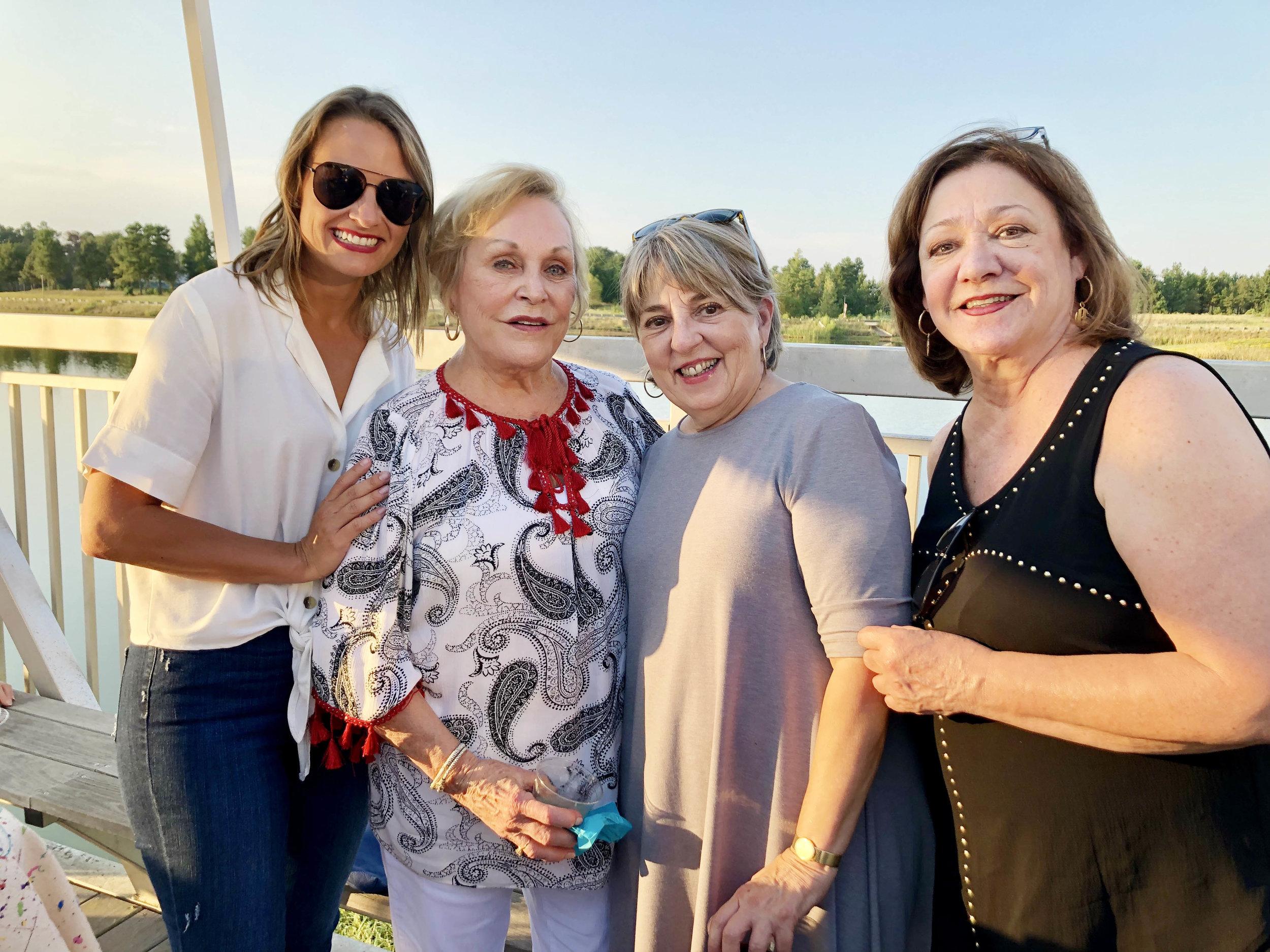 Corie Woodman, Sally Patton, Gayle Wright and Nancy Barlow
