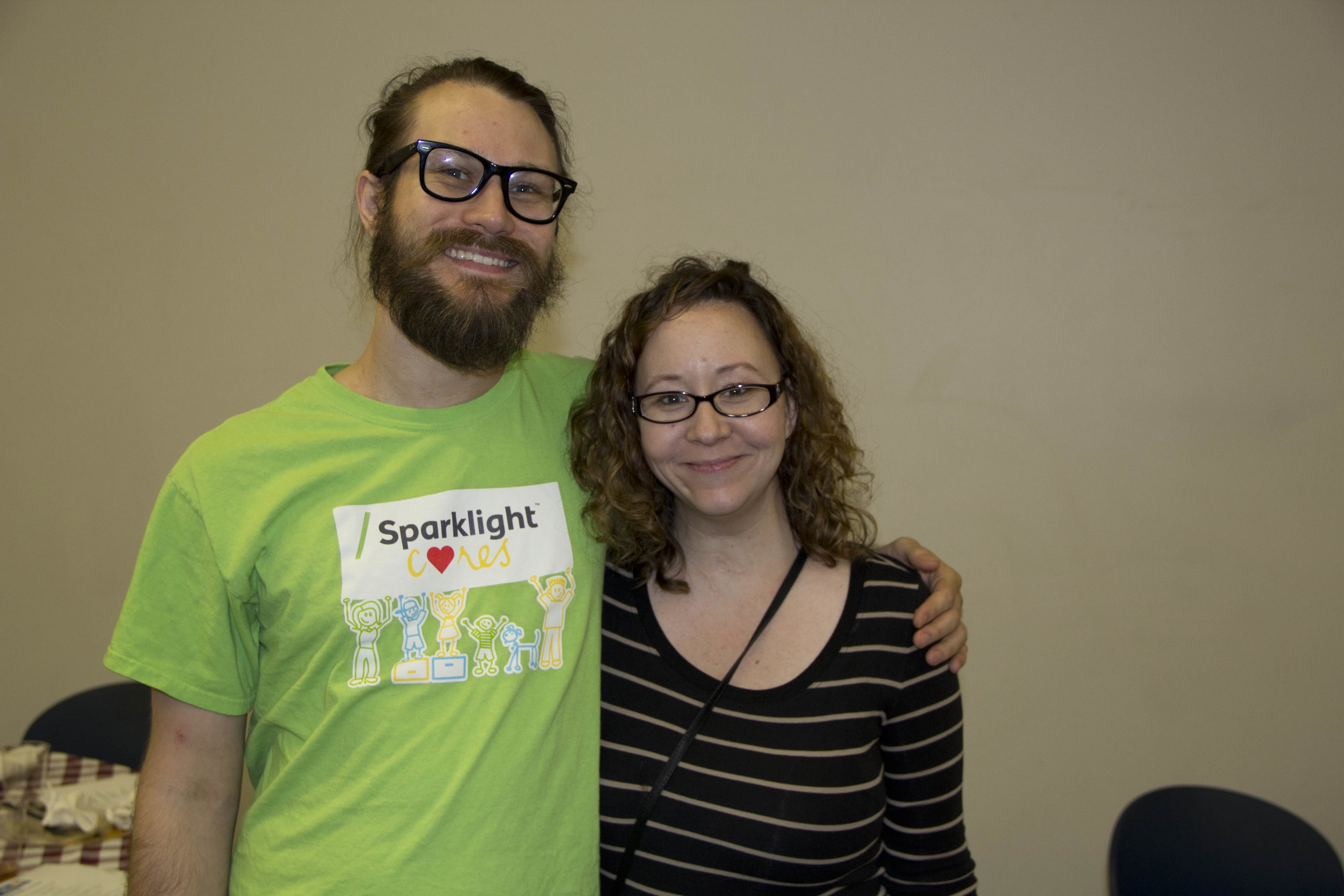Will Young and Kristin Marler
