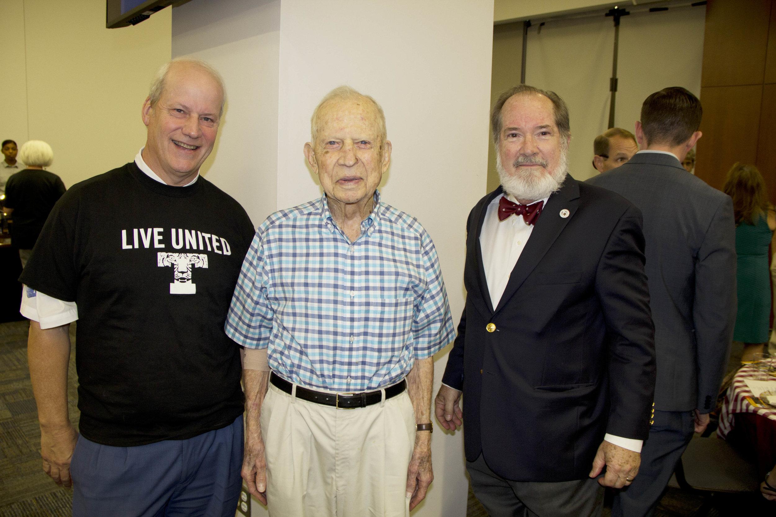 William Morriss, Josh Morriss, Jr. and Dr. Thomas Cutrer