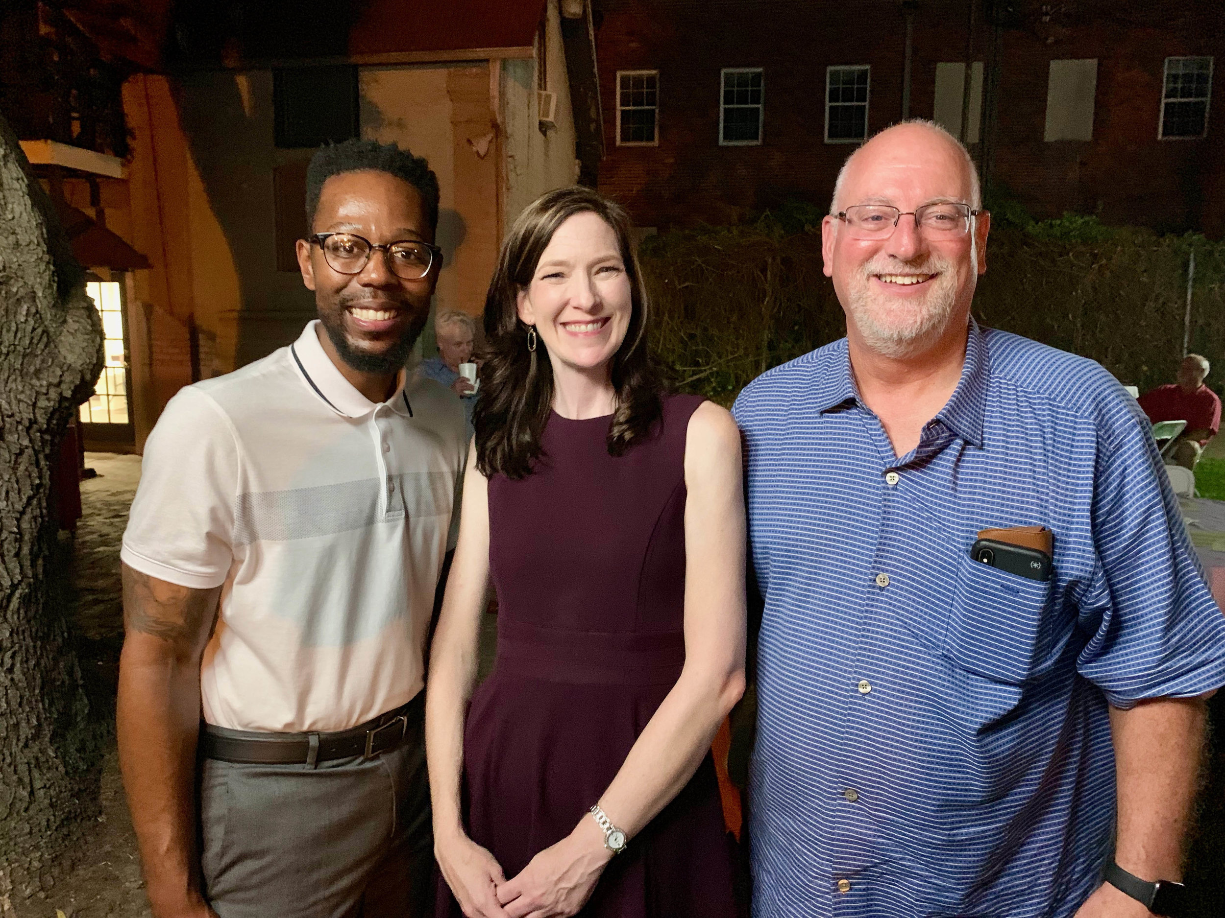 Dustin Hughes, Jennifer Lacefield and Ron Mills