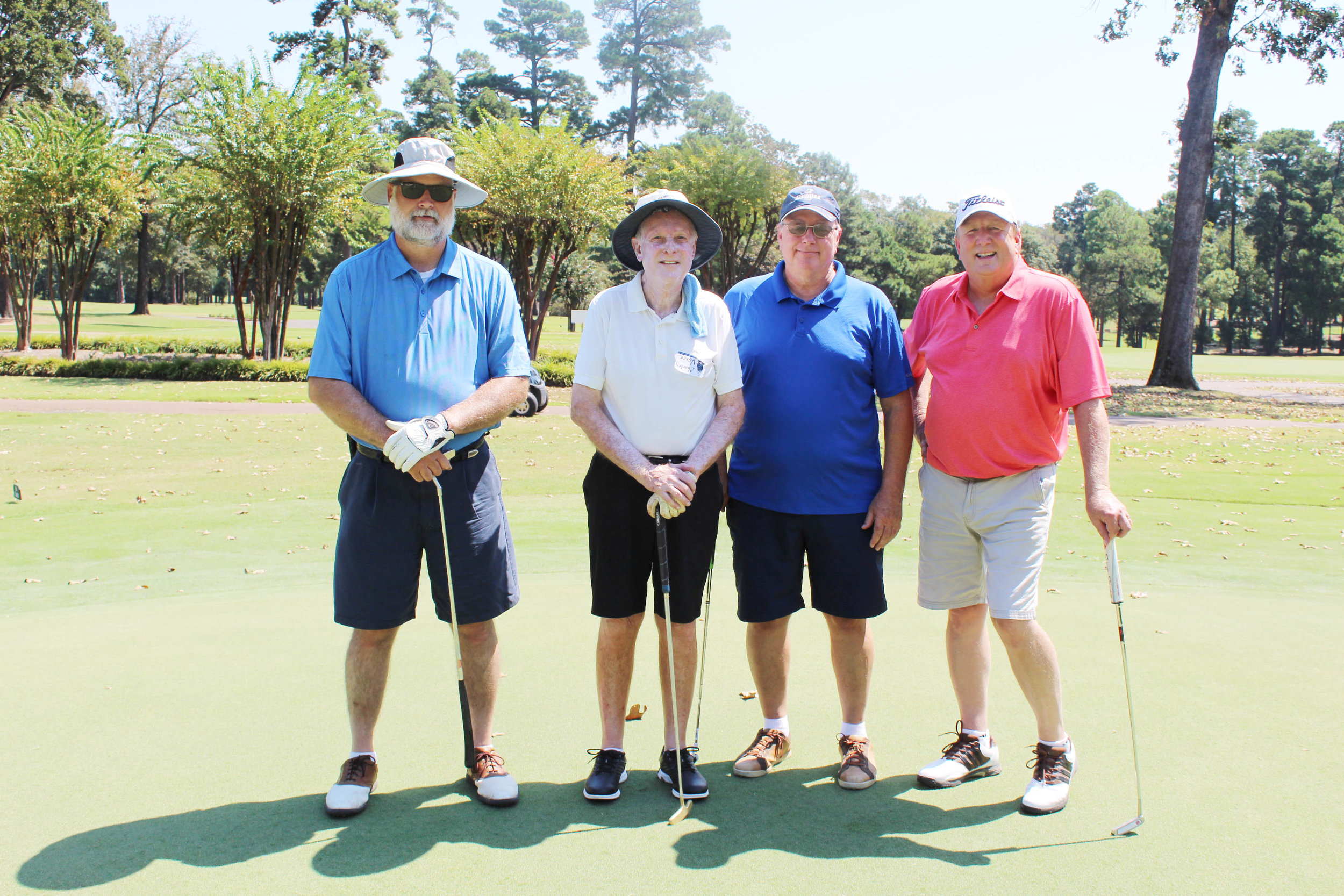 Paul Knowles, Charles Vance, Randy Gerber and Rick Rodenroth