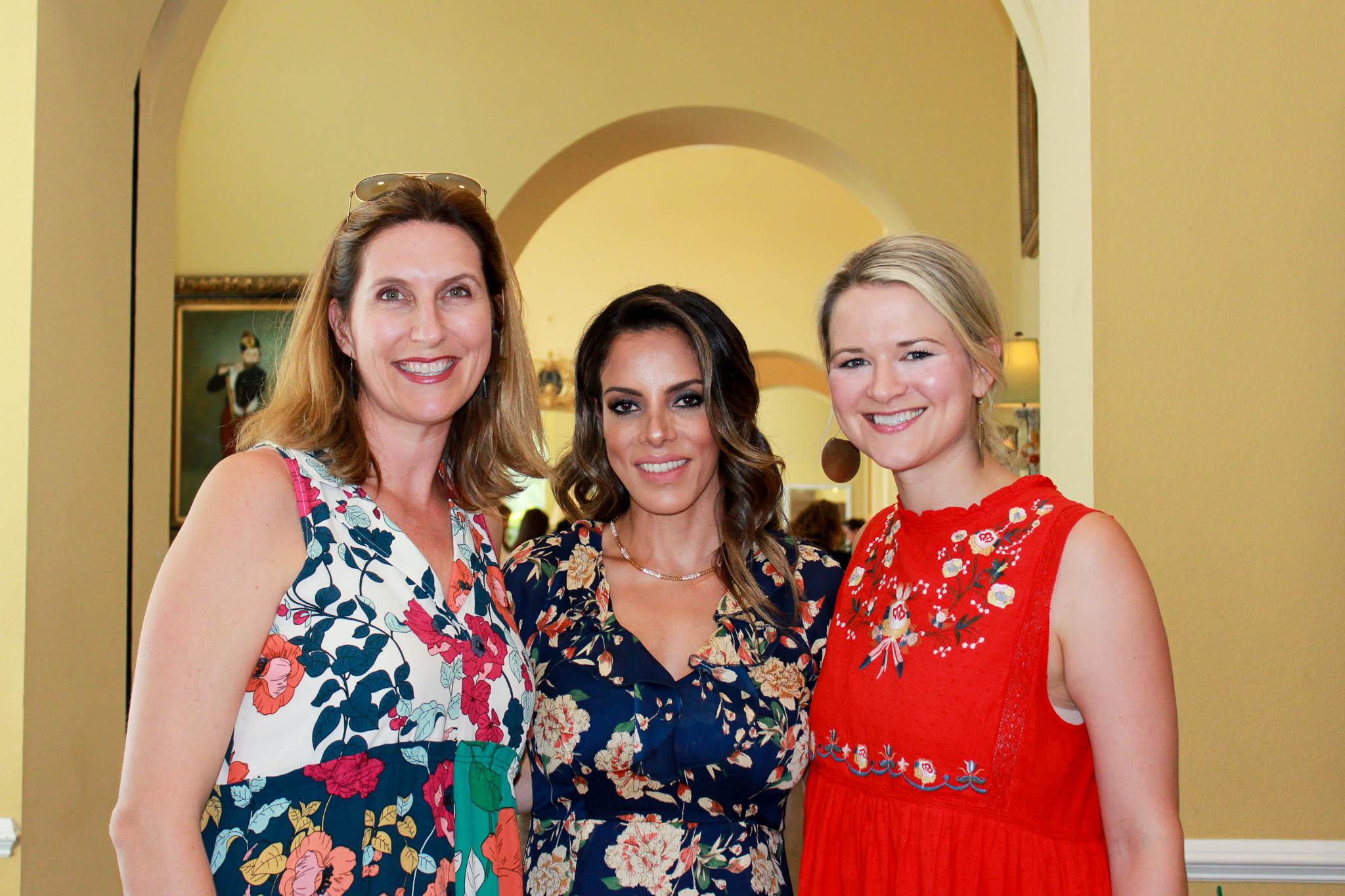 Lesley Dukelow, Layla Hazin and Liz Flippo