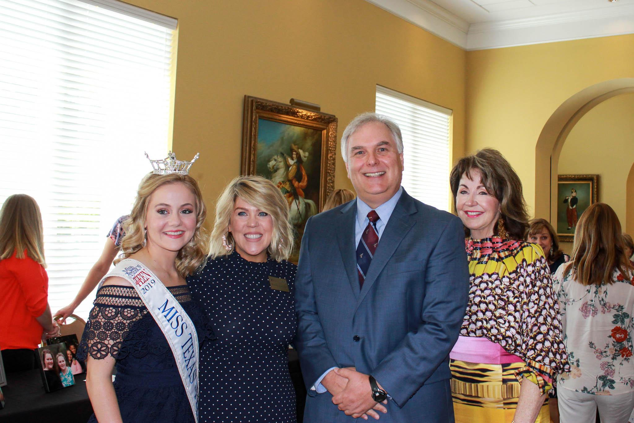 Allie Graves, Brandy Eldridge, Judge Jeff Addison and Judy Morgan
