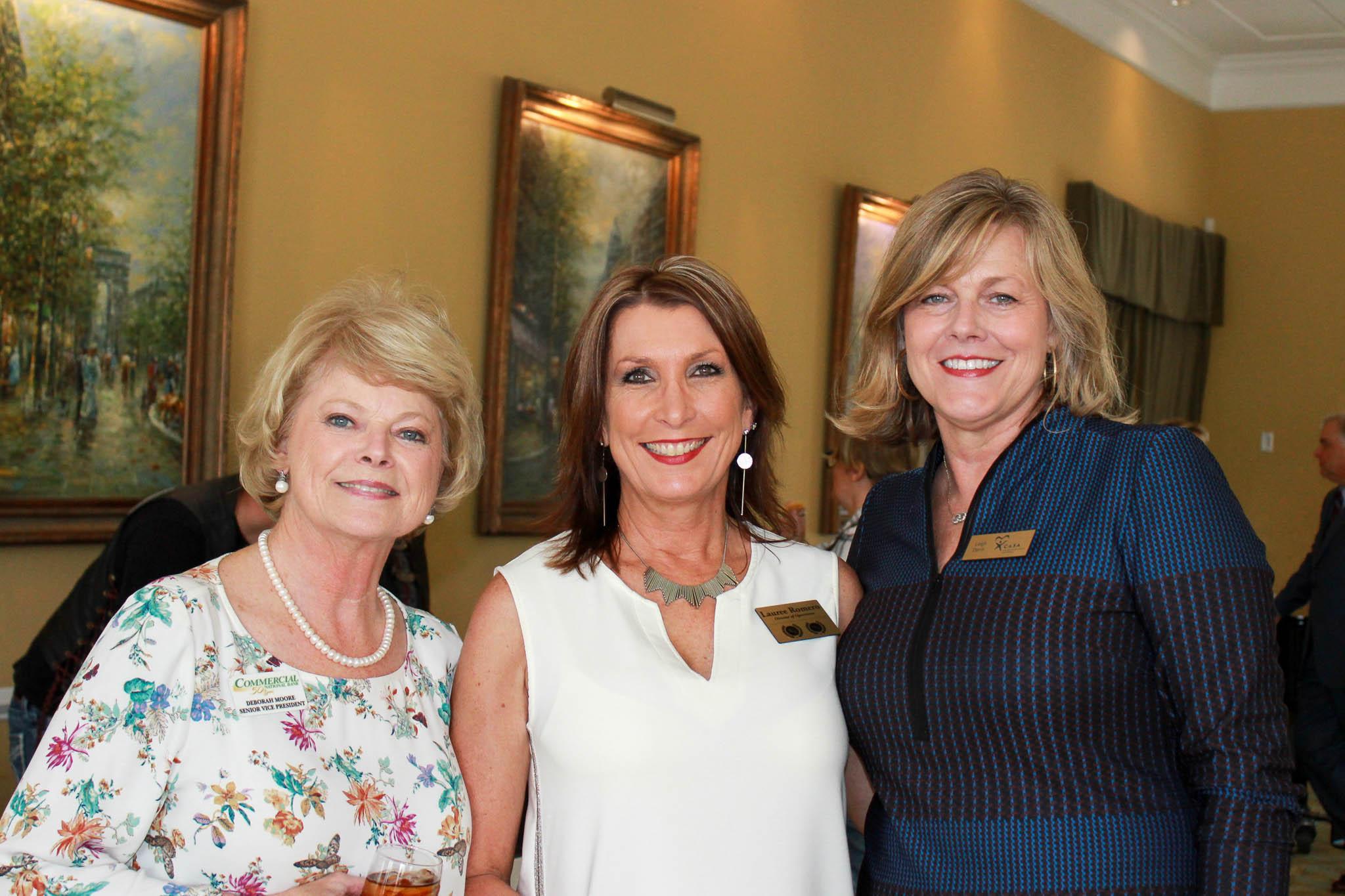 Debra Moore, Lauree Romero and Leigh Davis