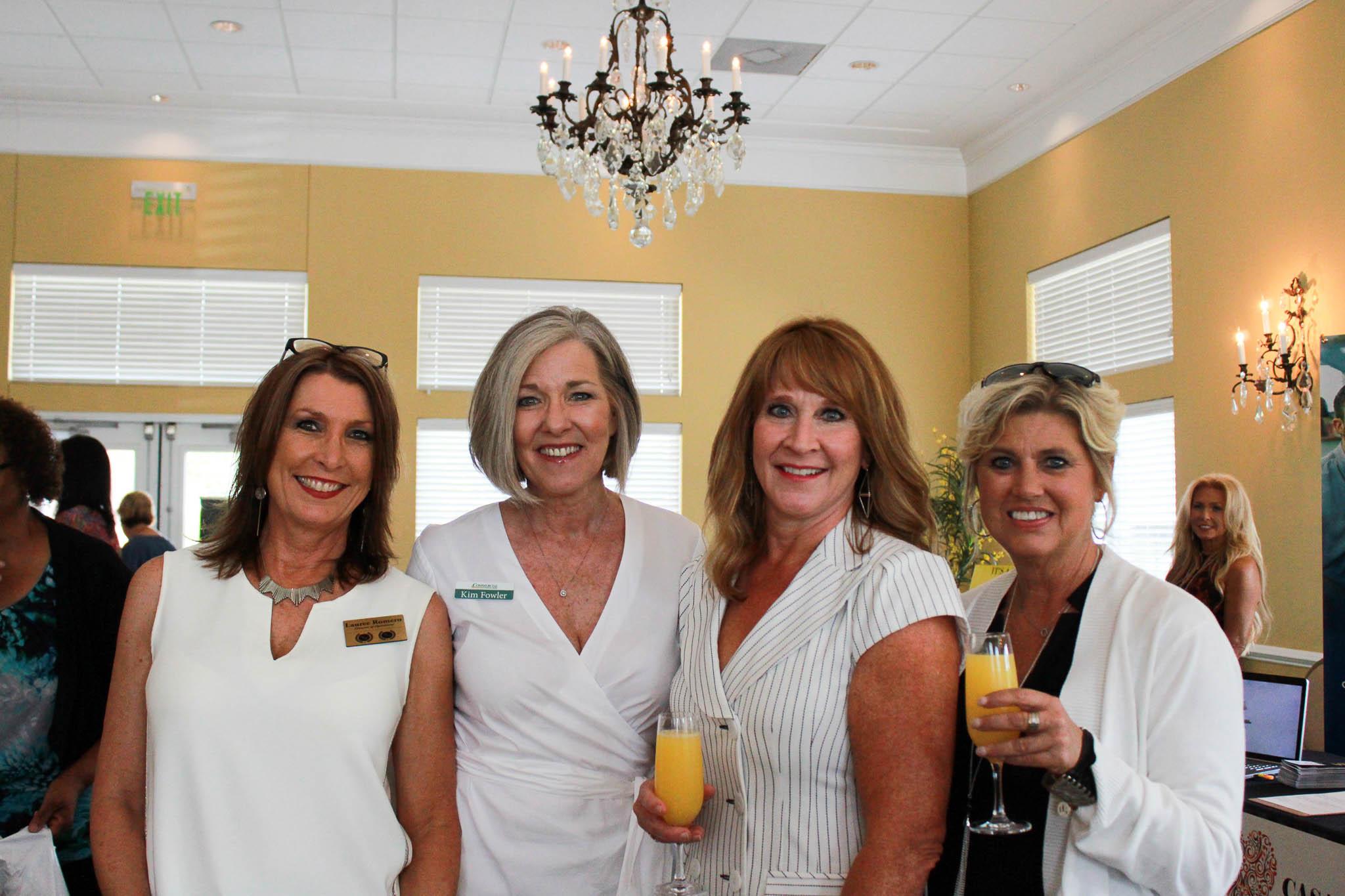 Lauree Romero, Kim Fowler, Stacy Yates and Kim Polk