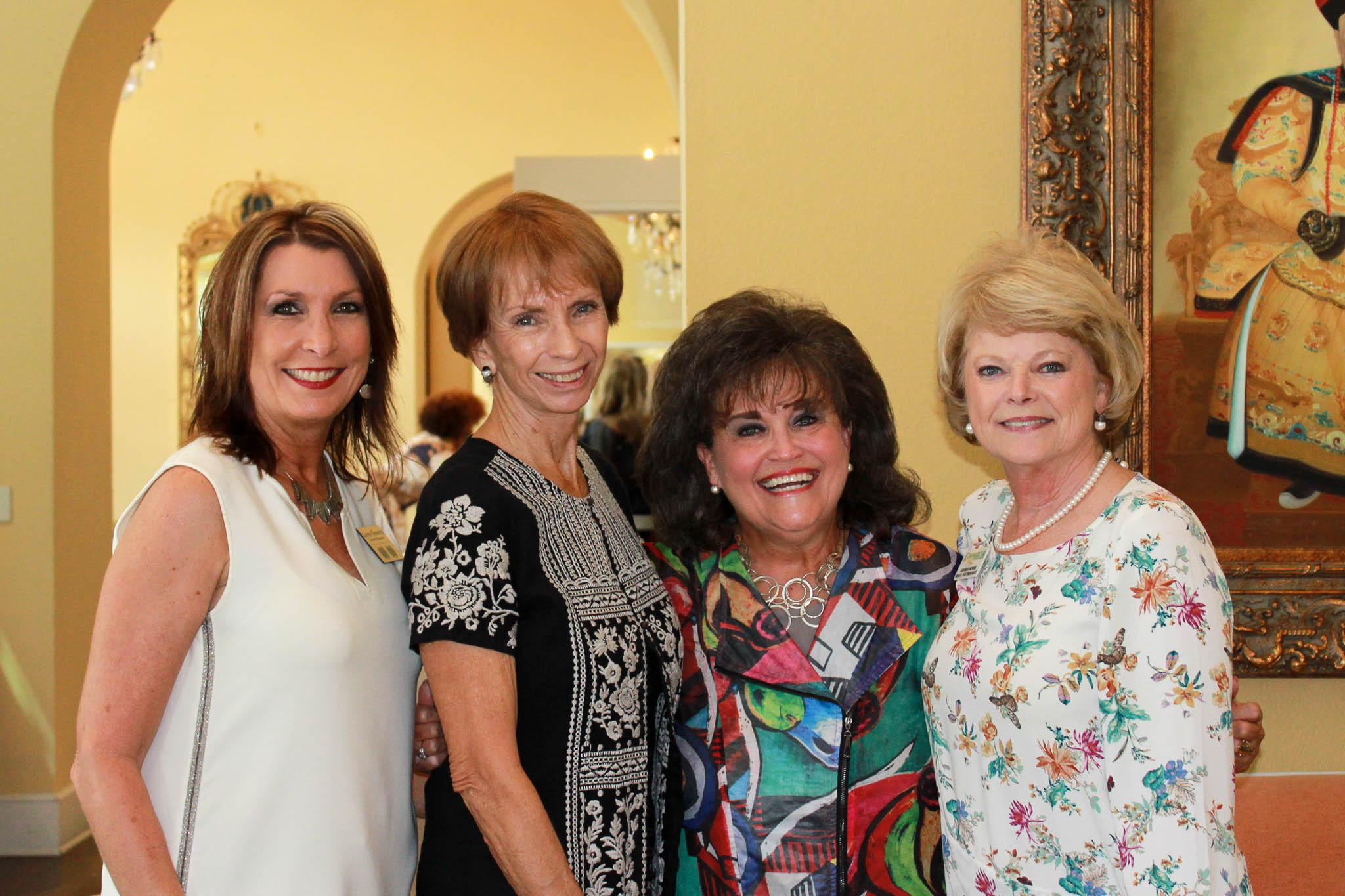 Lauree Romero, Diann Roy, Mary Katherine Weber and Debra Moore
