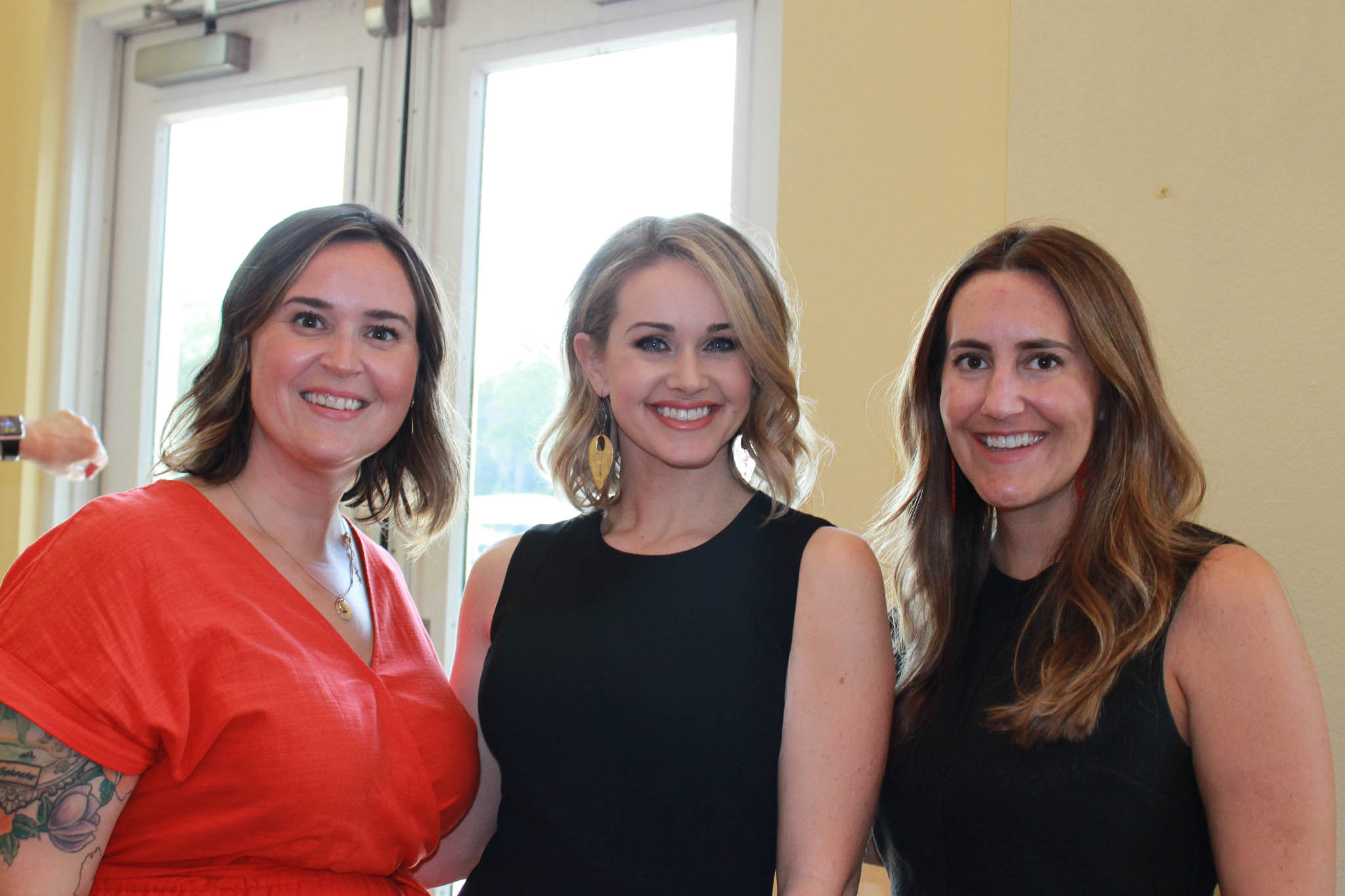 Samantha Whitlow, Taylor Barr and Jordan Miller