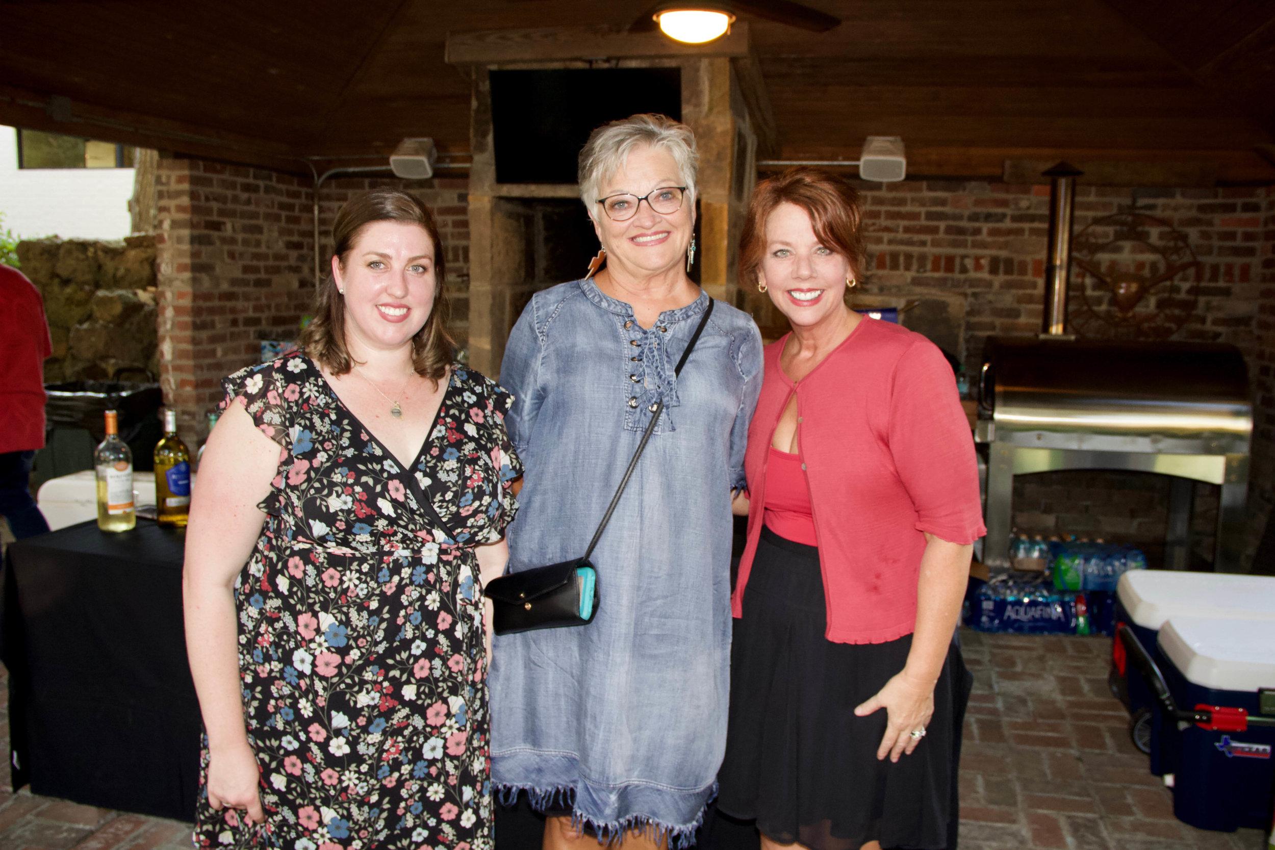 Jennifer Lewis, Nancy Luman and Michelle Walraven