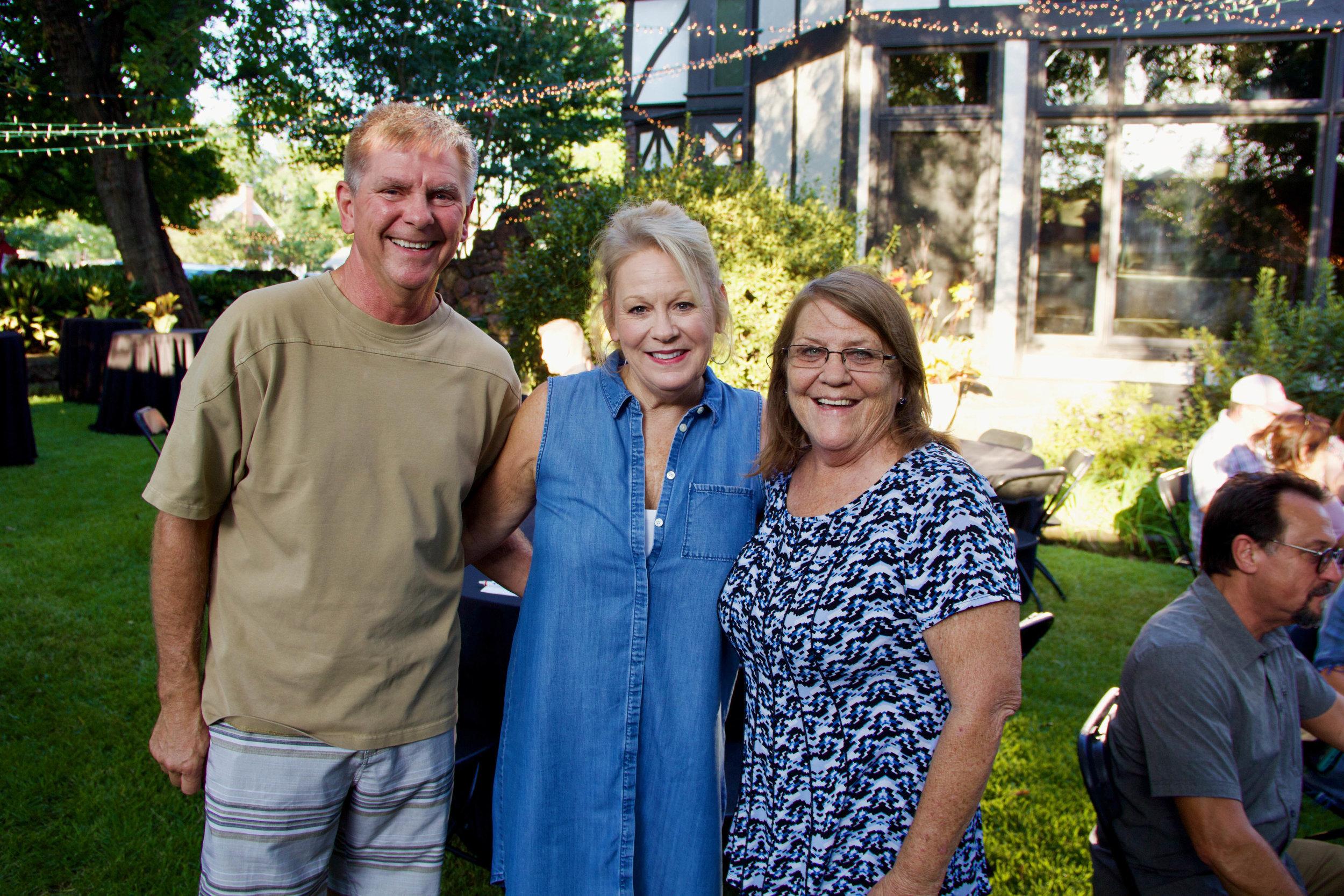 Jeff Harlow, Terrie Arnold and Lauren Layne