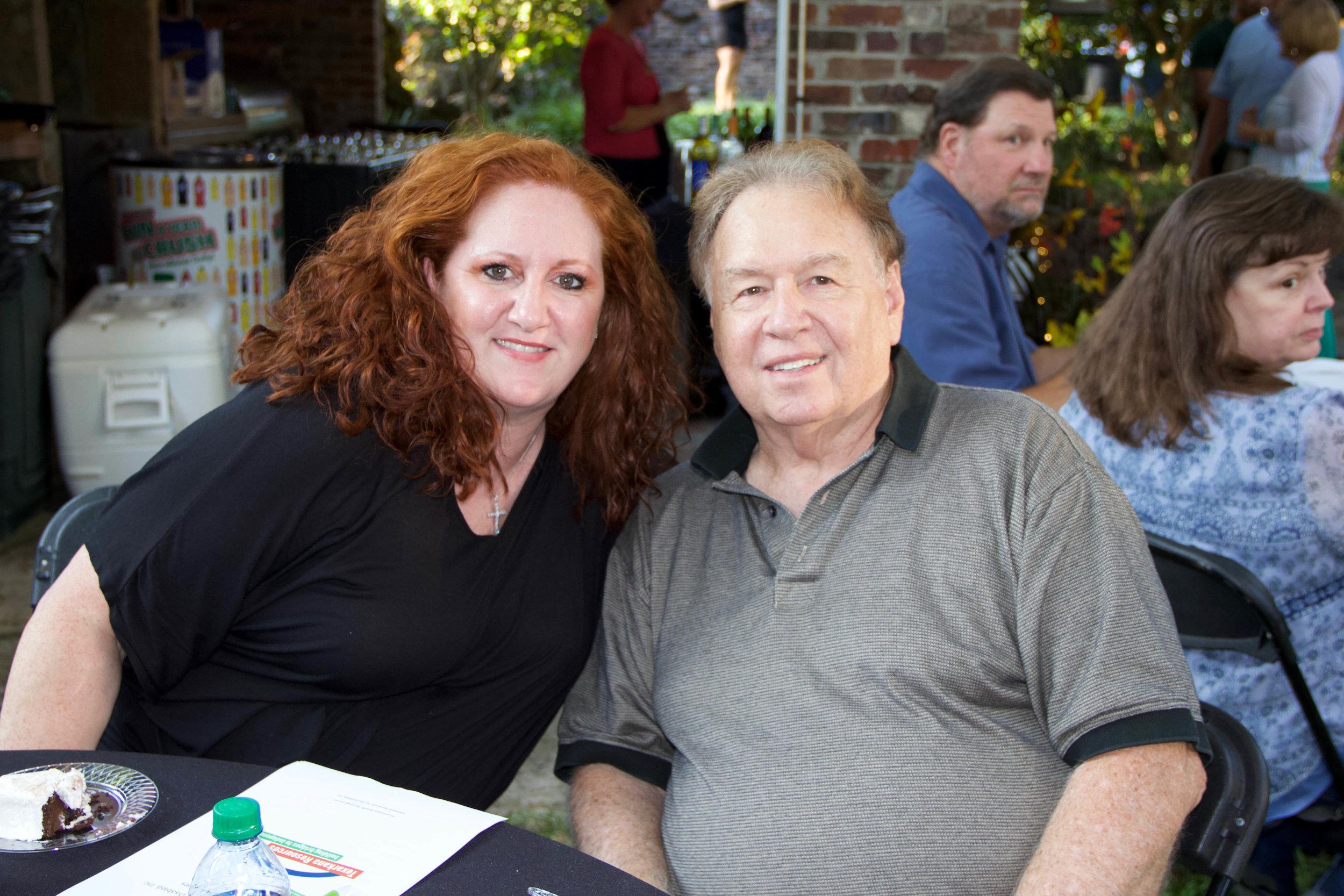 Laura Jenkins and Dr. Larry Davis