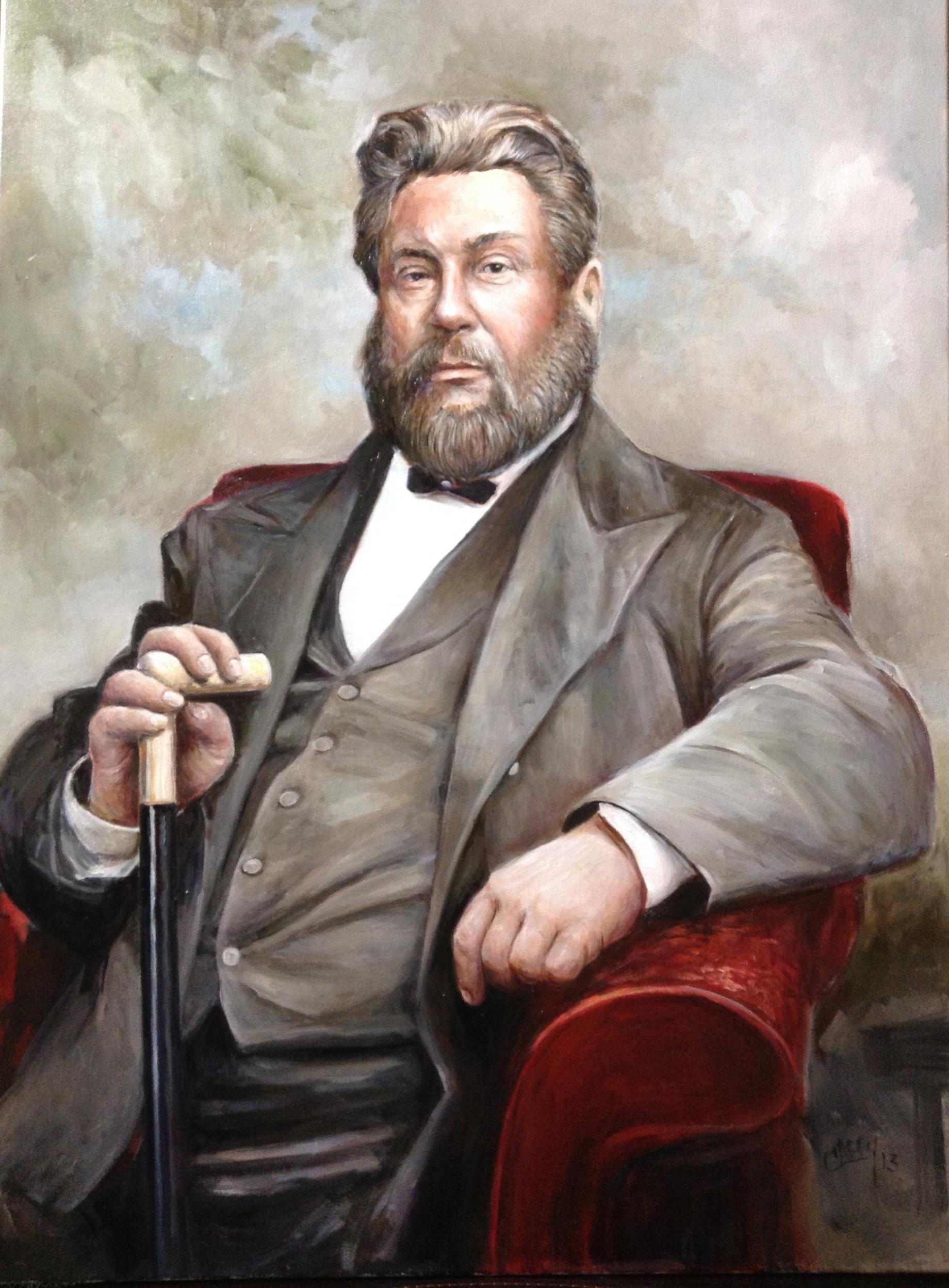 C.H.Spurgeon 28x36 Oil on Linen