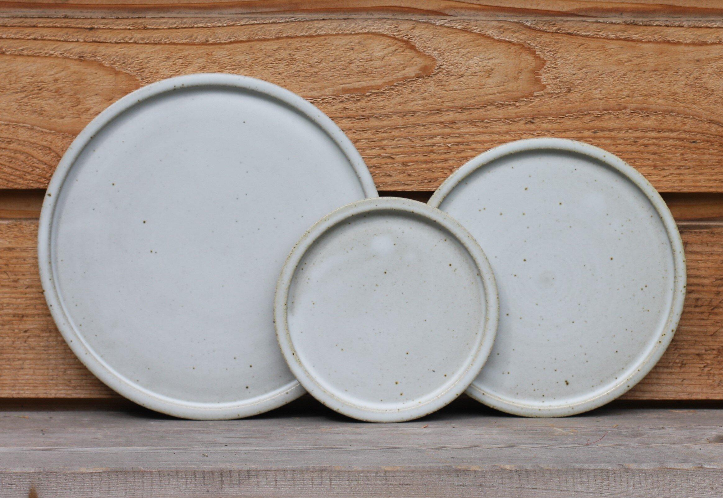 Tiny Stoneware Dish 2.5 White