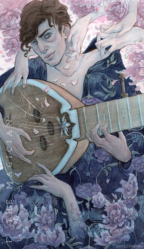 The Blood Moon Tarot — Sam Guay