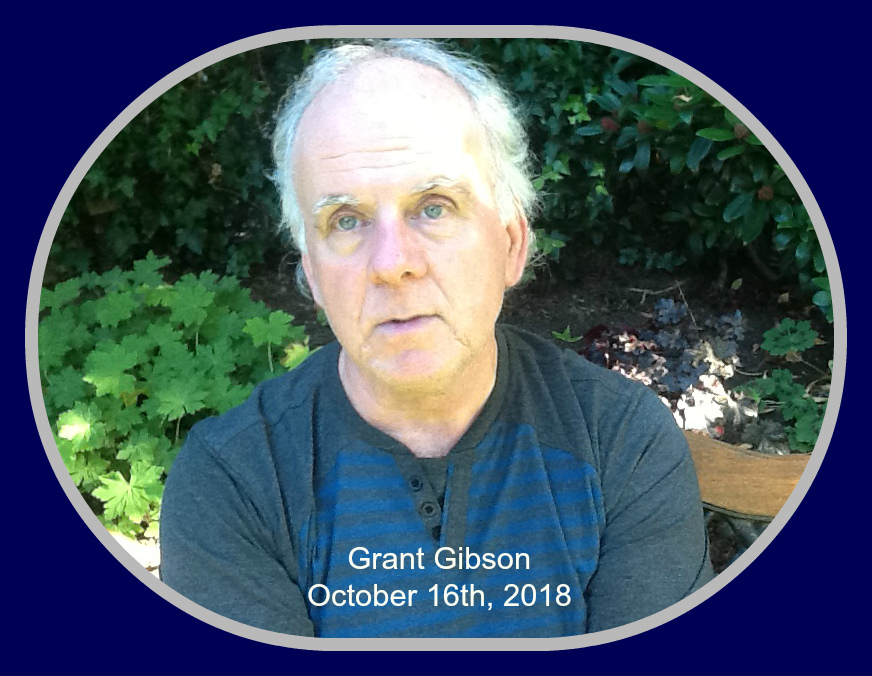 Grant Gibson, 2018, in Langley, BC.