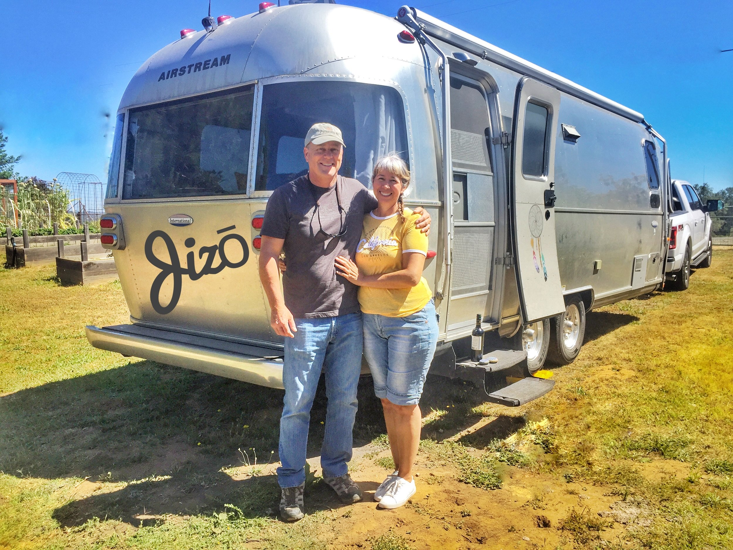 Us and our home on wheels - The Zen Den
