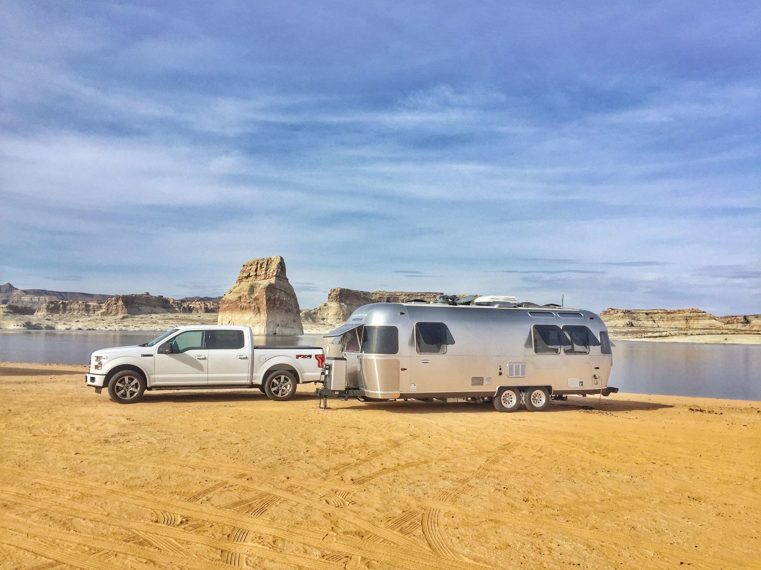 Best tow vehicle award - Ford F-150 - Lake Powell Campgrounds