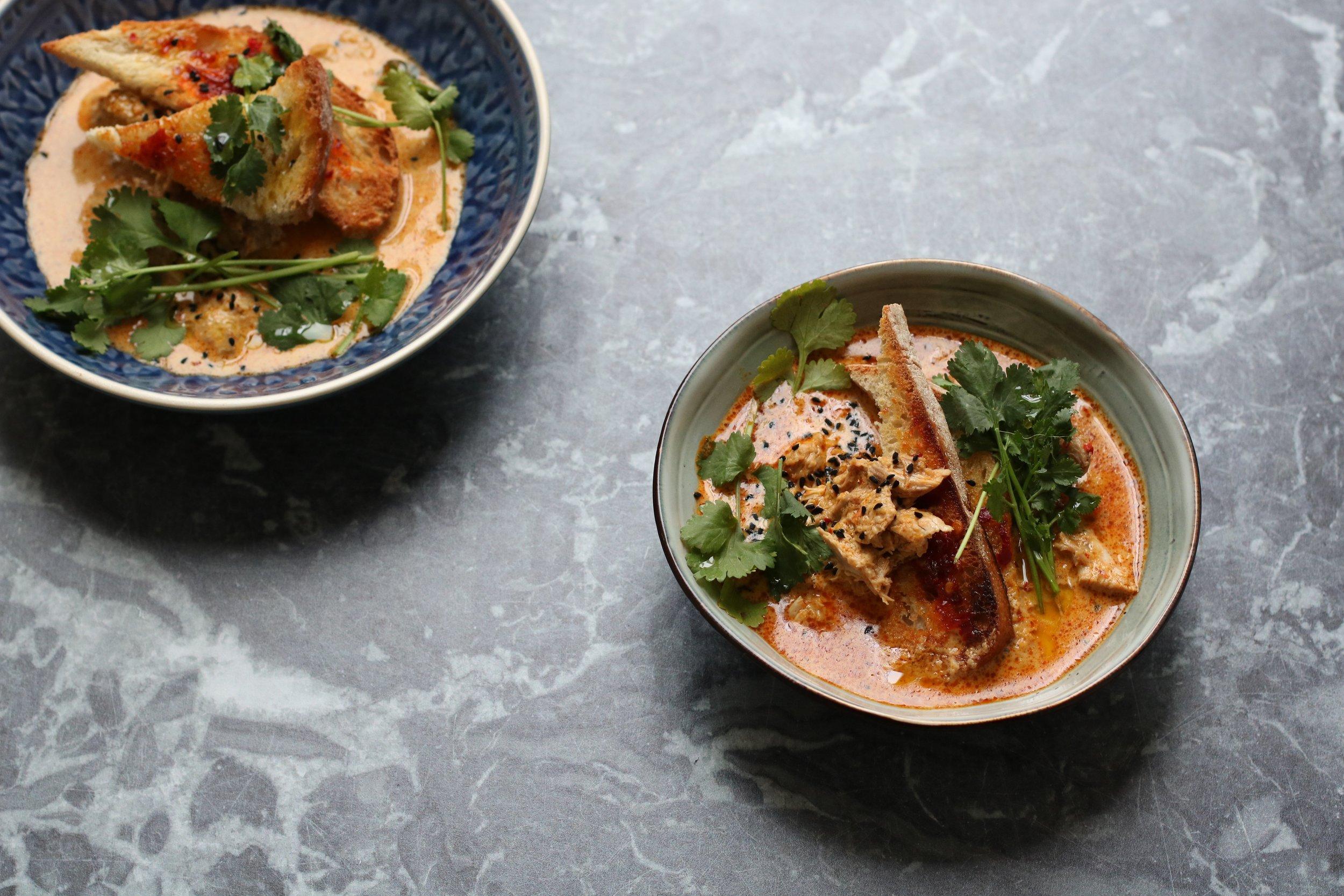 Curry pheasant