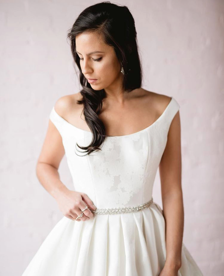 how to style a bridal sash