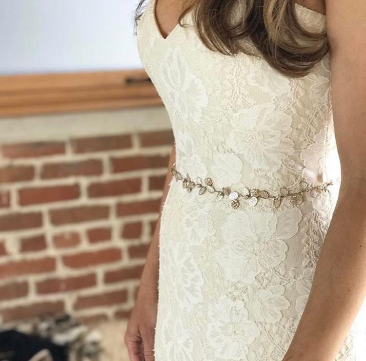 style a bridal sash