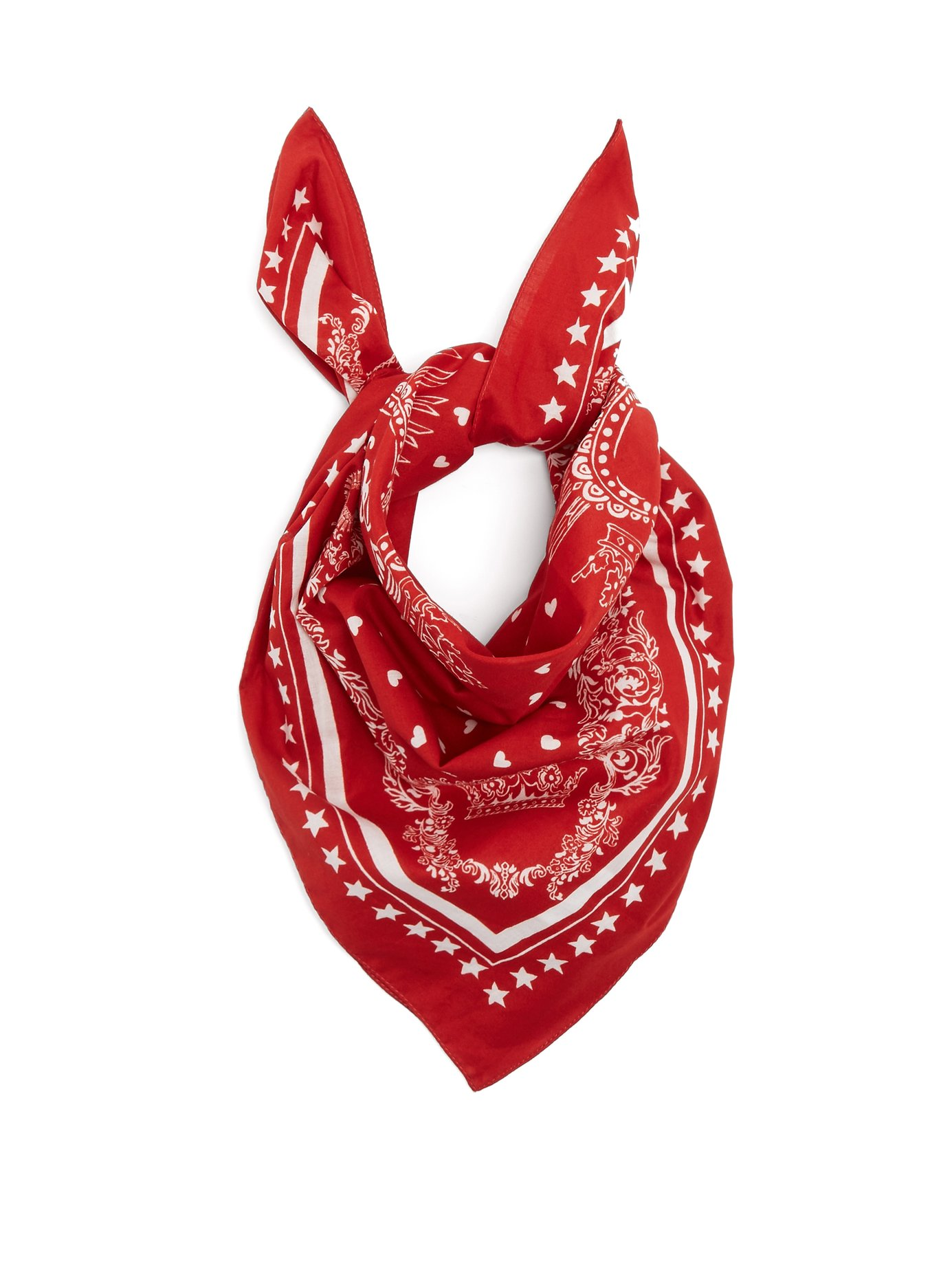 Cotton scarf, £95 by Dolce & Gabbana at Matches