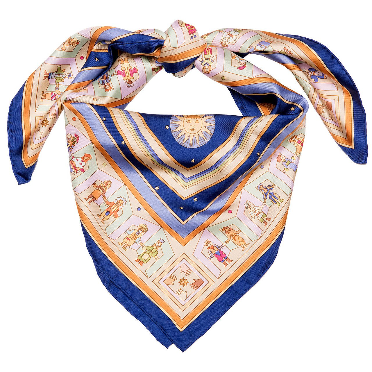Silk scarf, £339 by Hermes at 1stDibs