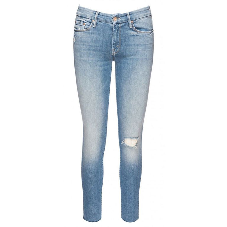 3. Looker Ankle Fray Love Gun Jeans, £168 by Mother Denim