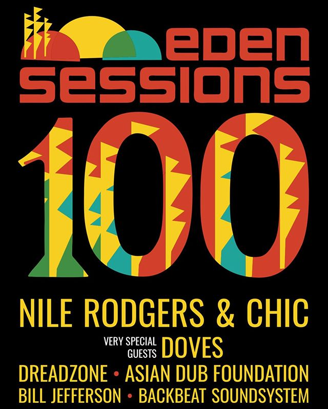 We are honoured to have been invited to play at the 100th Eden Sessions show at the Eden Project, Cornwall. Words cannot describe how excited we are to be on the same lineup as @nilerodgers & Chic! We'll be on stage during the daytime on Sun 23rd June. For more info & tickets head to edensessions.com 😃 @edenprojectcornwall #backbeatsoundsystem #ukreggae #chic #everybodydance #nilerodgers #edensessions2019
