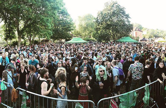 Yes Bristol! Huge vibes in St. Werburghs today. This is why we love Bristol. X #backbeatsoundsystem #stwerburghsfair