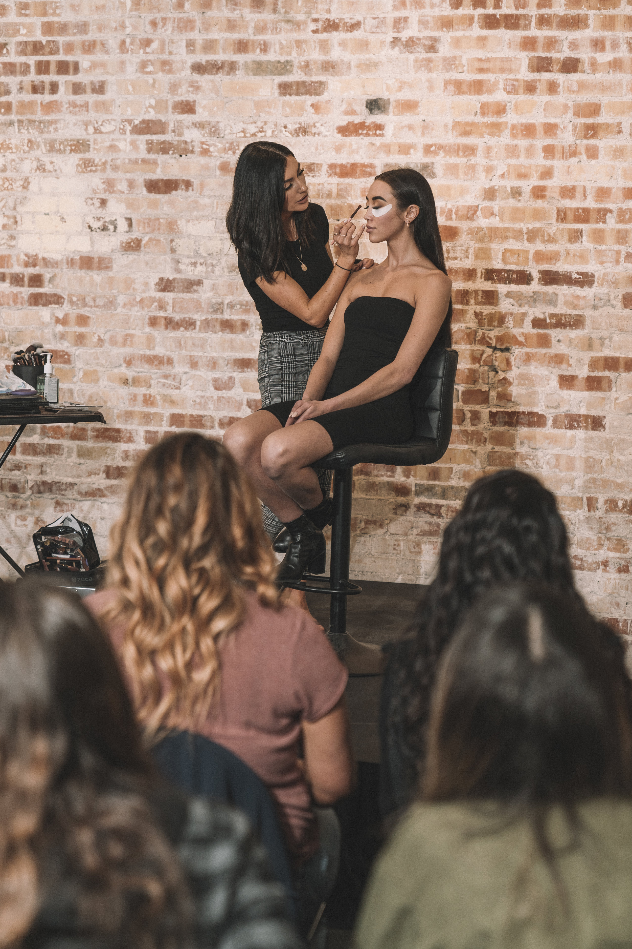 Boise Makeup Class - When: Wednesday, May 8th, 201912:00 pm - 4:00 pm MSTWhere: Coffee Paint Repeat139 East Idaho Ave, Meridian, ID 83642Price: $150About:This class is for working makeup artists, aspiring artists, makeup enthusiasts and anyone who has a passion for makeup and wants to learn new techniques. This is a 4 hour class in which Morgan will perform an in depth demonstration of one of her signature looks as well as a Q & A session. Because Morgan wants this class to be beneficial to all skill levels, she will be going over the basics as well as advanced techniques. She is excited and passionate to share her knowledge and experience in this class and can't wait to help you excel in your makeup career.Topics that will be covered:How to perfectly blend eyeshadow in a flattering way for every eye shape. The brushes, tools and techniques you need to achieve seamless blending.How to apply false lashes and have them blend into natural lashes. The products and tools that will make it an easy application.How to shape and fill in eyebrows to suit the client's face using both brow pencils and powder. You will learn how to set them properly to last all day.How to affectively prep the skin for makeup. You will learn techniques for oily, dry, combination and normal skin types.How to achieve a flawless full coverage base. Morgan will demonstrate her techniques on layering product to get a beautiful airbrush-like finish without looking cakey or heavy.How to sculpt and define the face with contour, bronzer, highlight and blush. How to know how much to apply to give the skin a healthy and luminous color and glow. You will learn with both cream and powder products.How to line and apply lipstick.How to set the face properly for all day wear.More topics will be covered these are just the main points. Morgan will be teaching a signature look all the way from start to finish.This class was designed with makeup artists in mind but that does not mean you have to be one to attend! Anyone that has a love for makeup and learning is welcome.